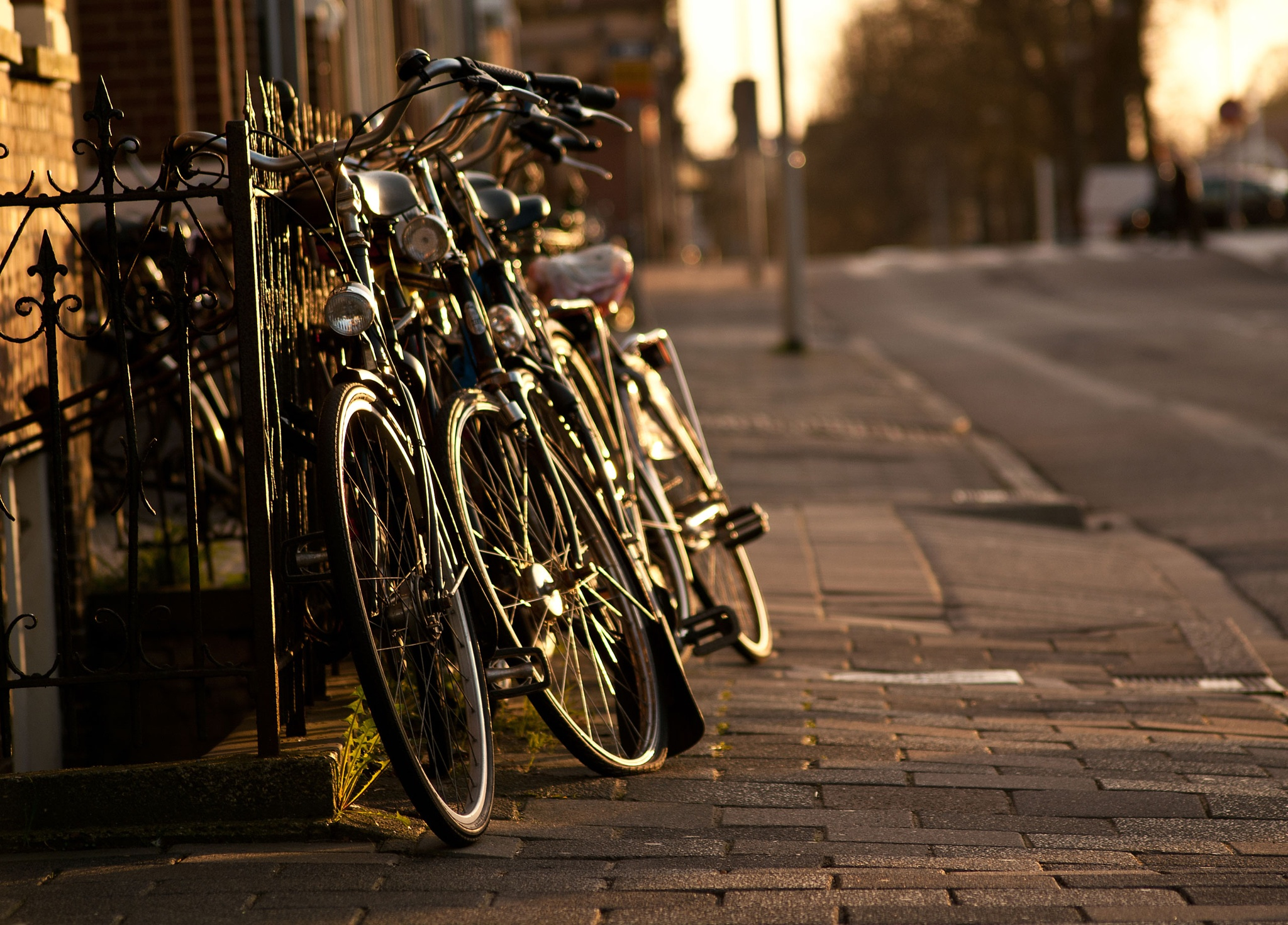 bikes in Groningen by Ruben Gv Gv