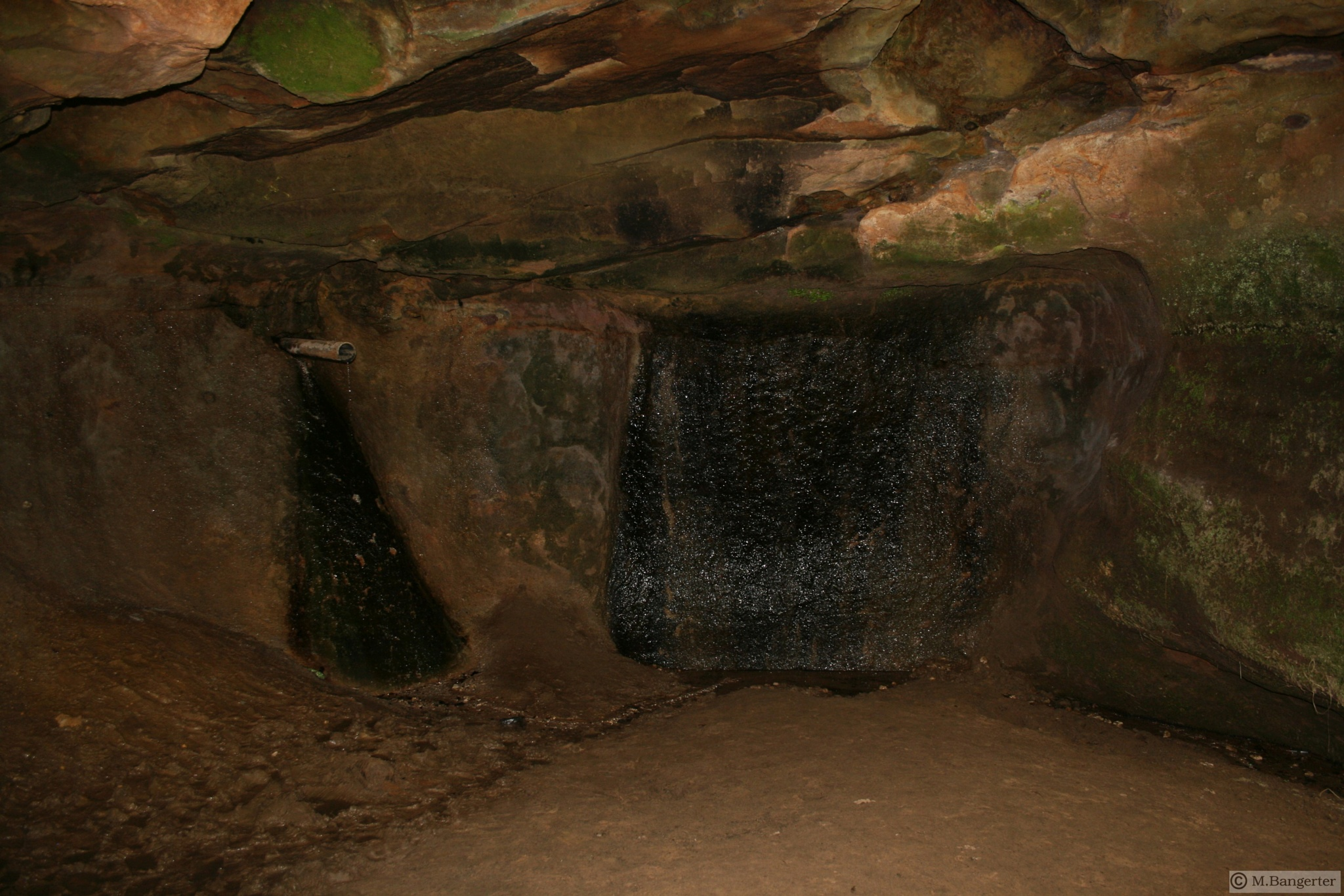old wet cellar by Michael