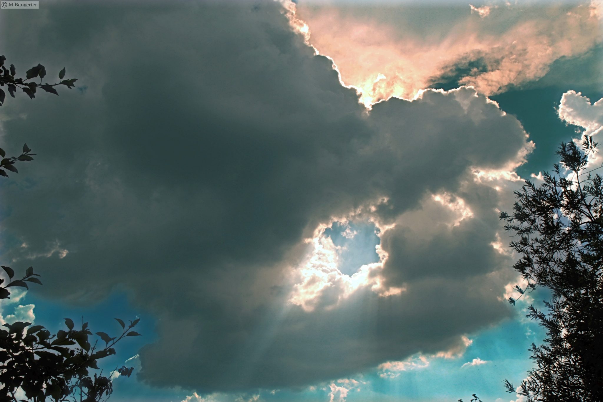 Photo in Nature #suddenly a storm! #the sky above our house #early summer storm
