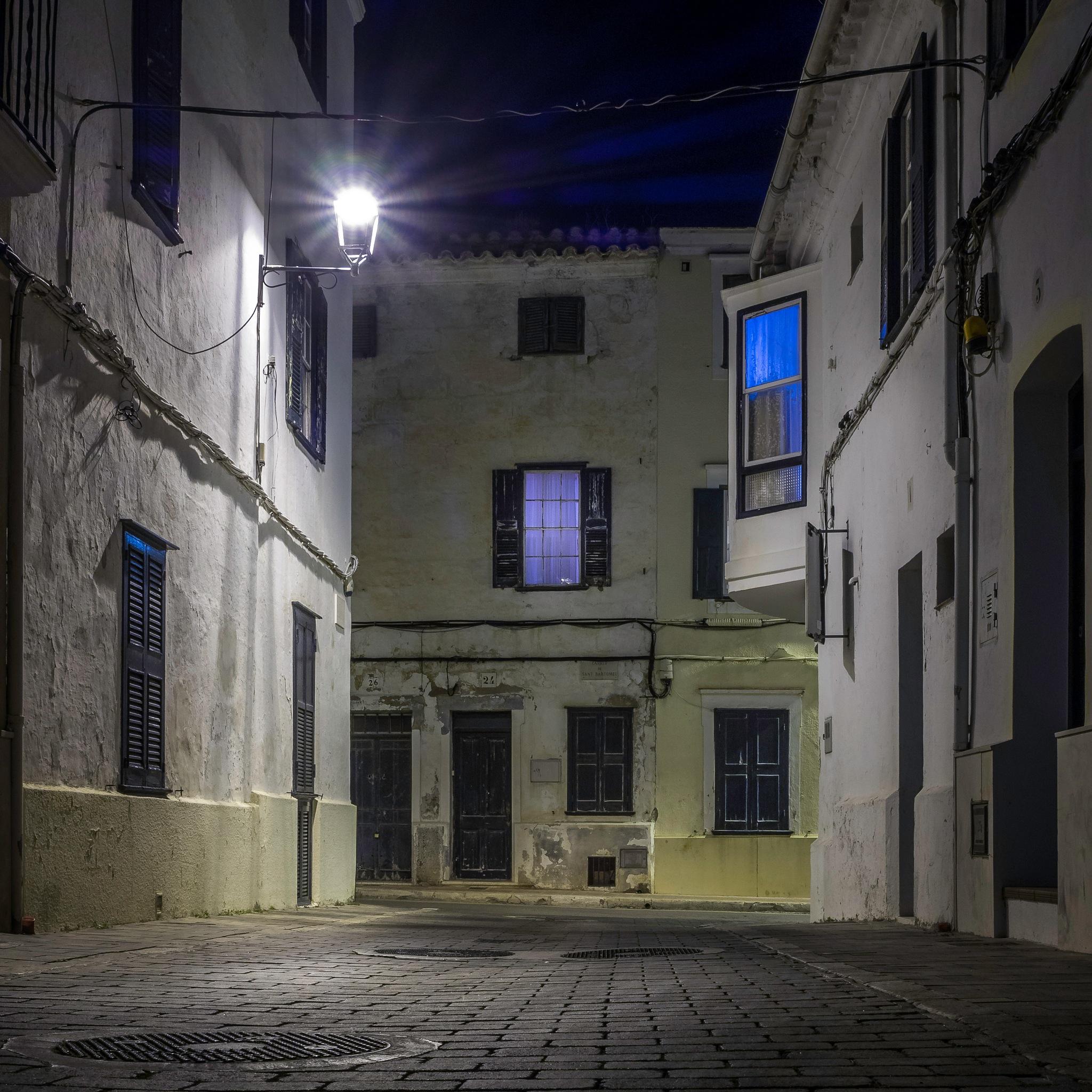 Street of Mahón by Juan Curbelo Ekstrand