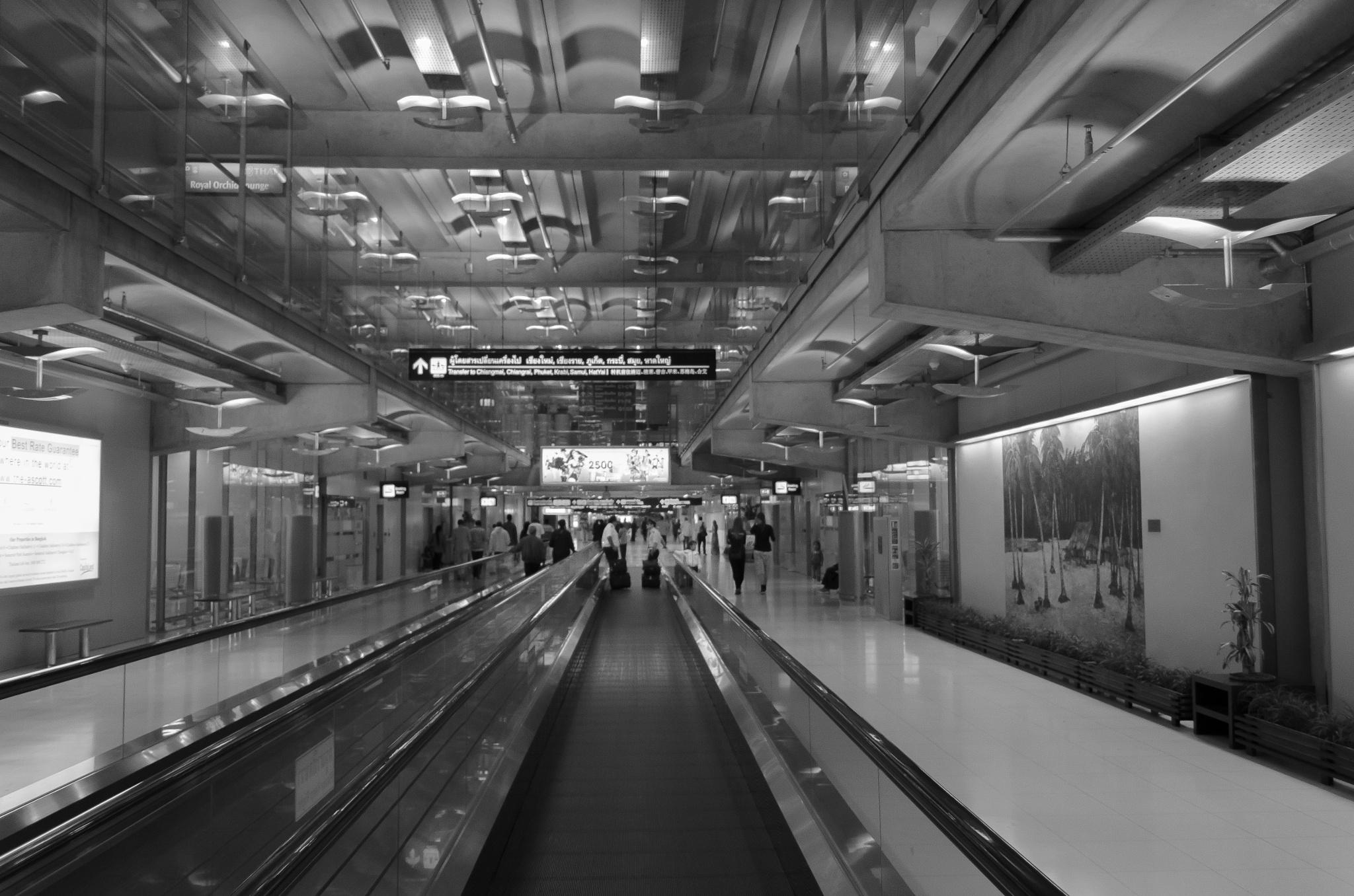 bangkok airport by Mohamed SalahEldin