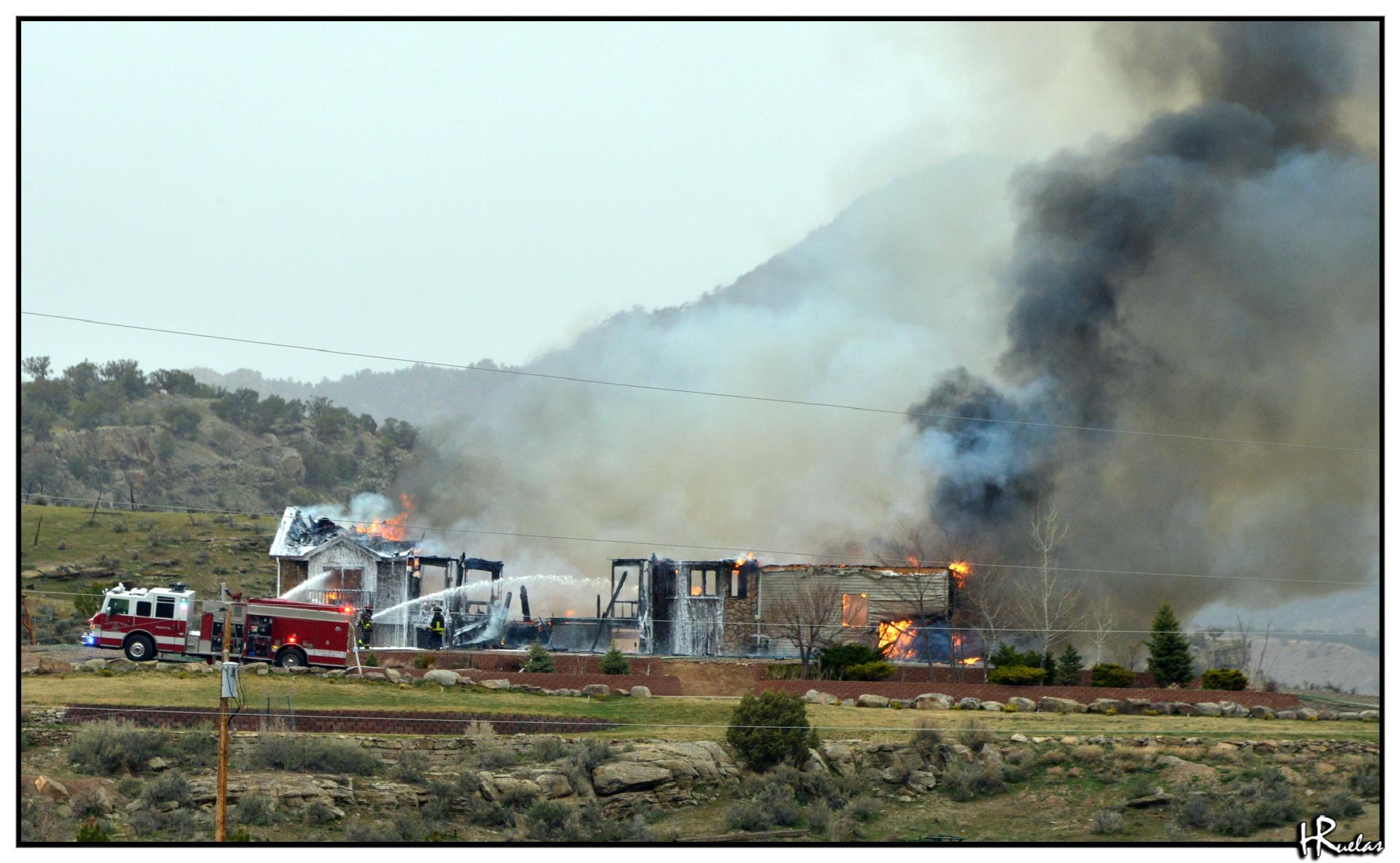 House Fire by Hugo
