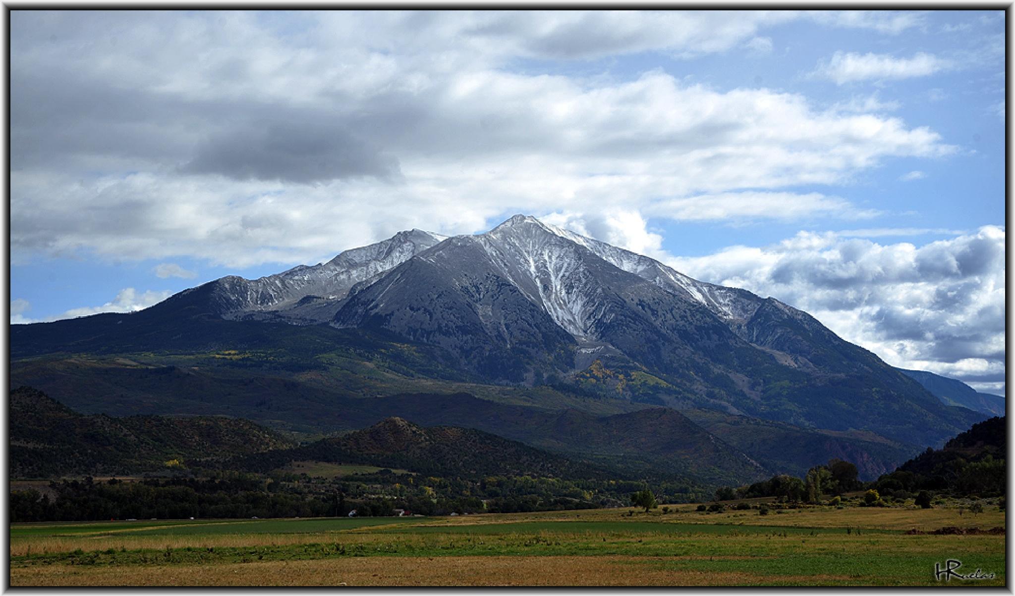 Mount Sopris by Hugo