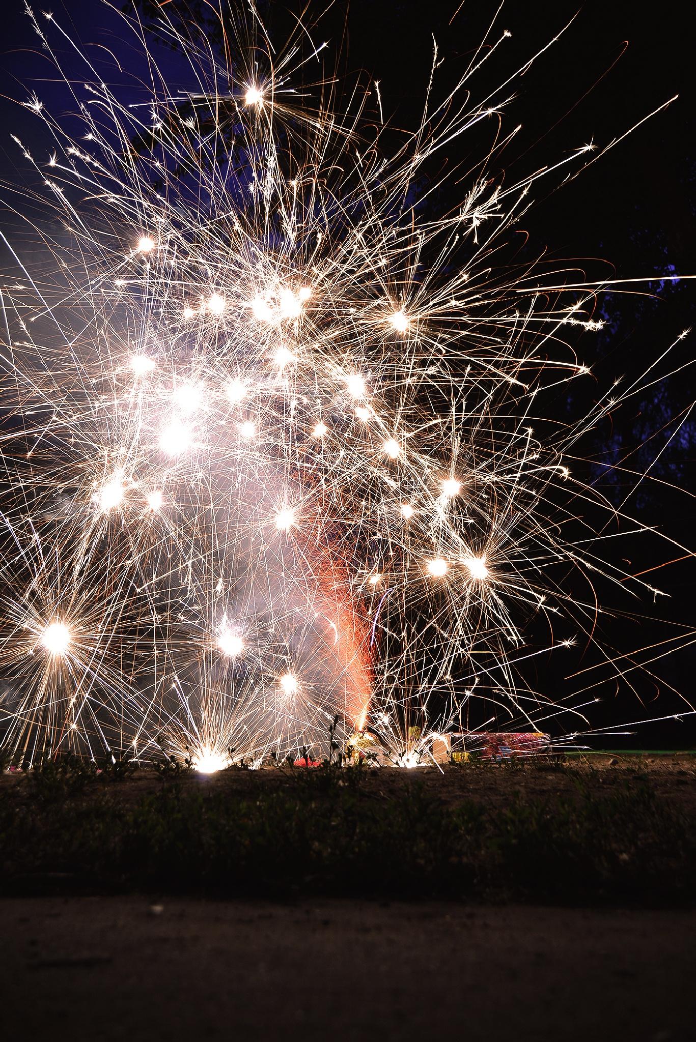 Fireworks  by Hugo
