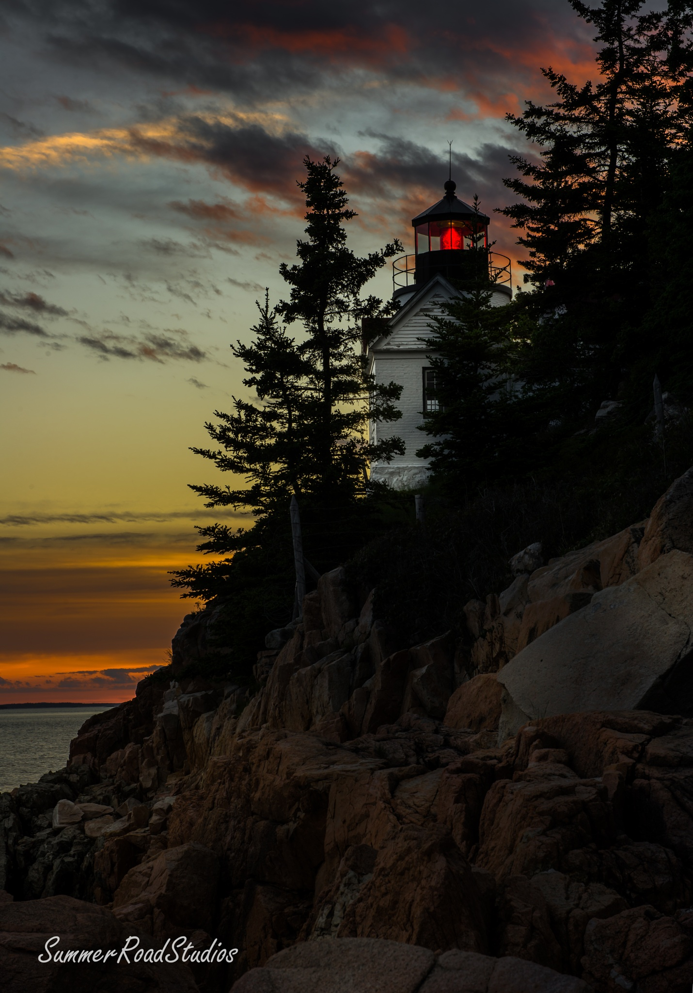 Maine lighthouse. by wexfenne24