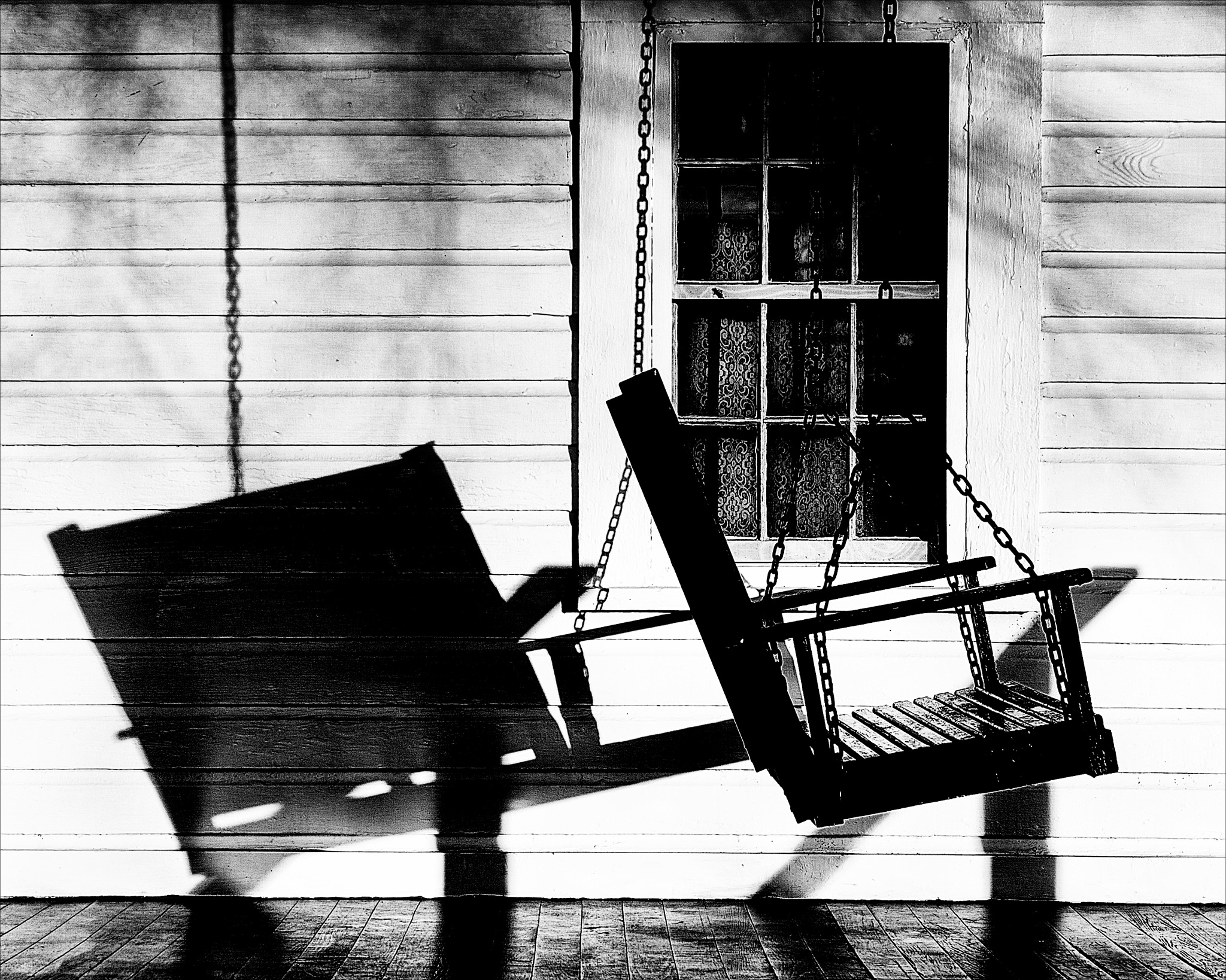 The King's Swing - Elvis Presley Birthplace - Tupelo, Mississippi by Leroy