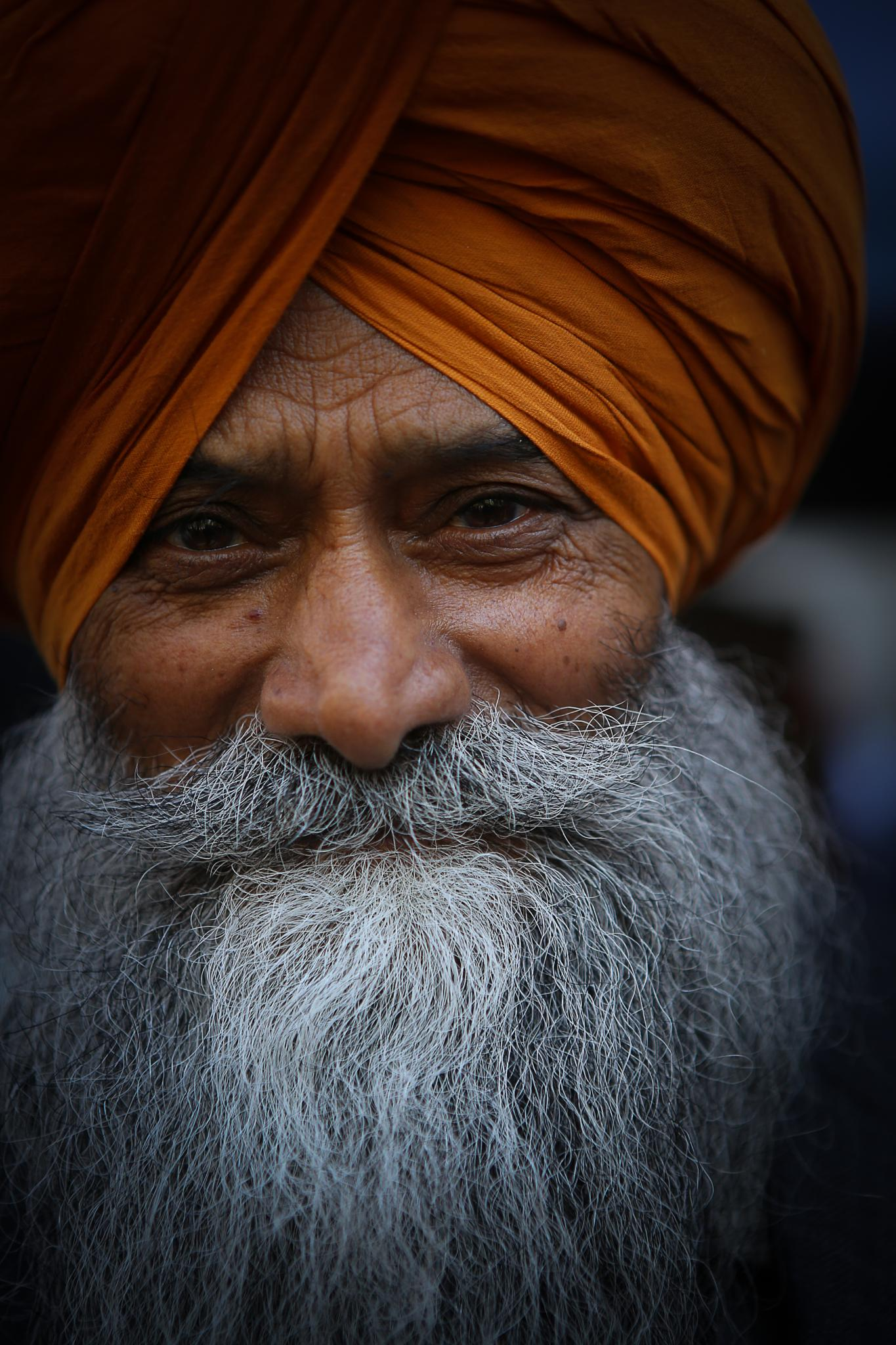 Photo in Street Photography #man #sikh #nyc #parade