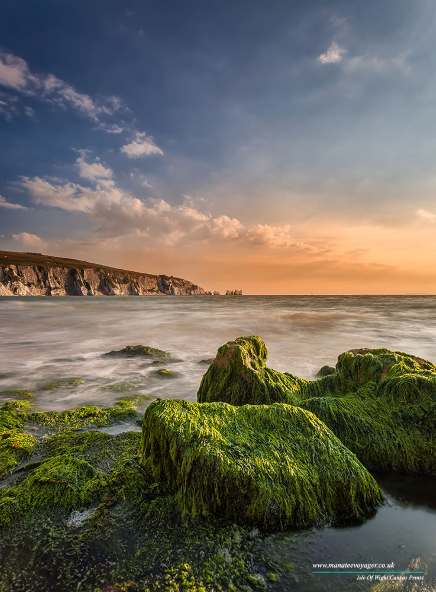 Alum Bay and The Needles by English Landscapes