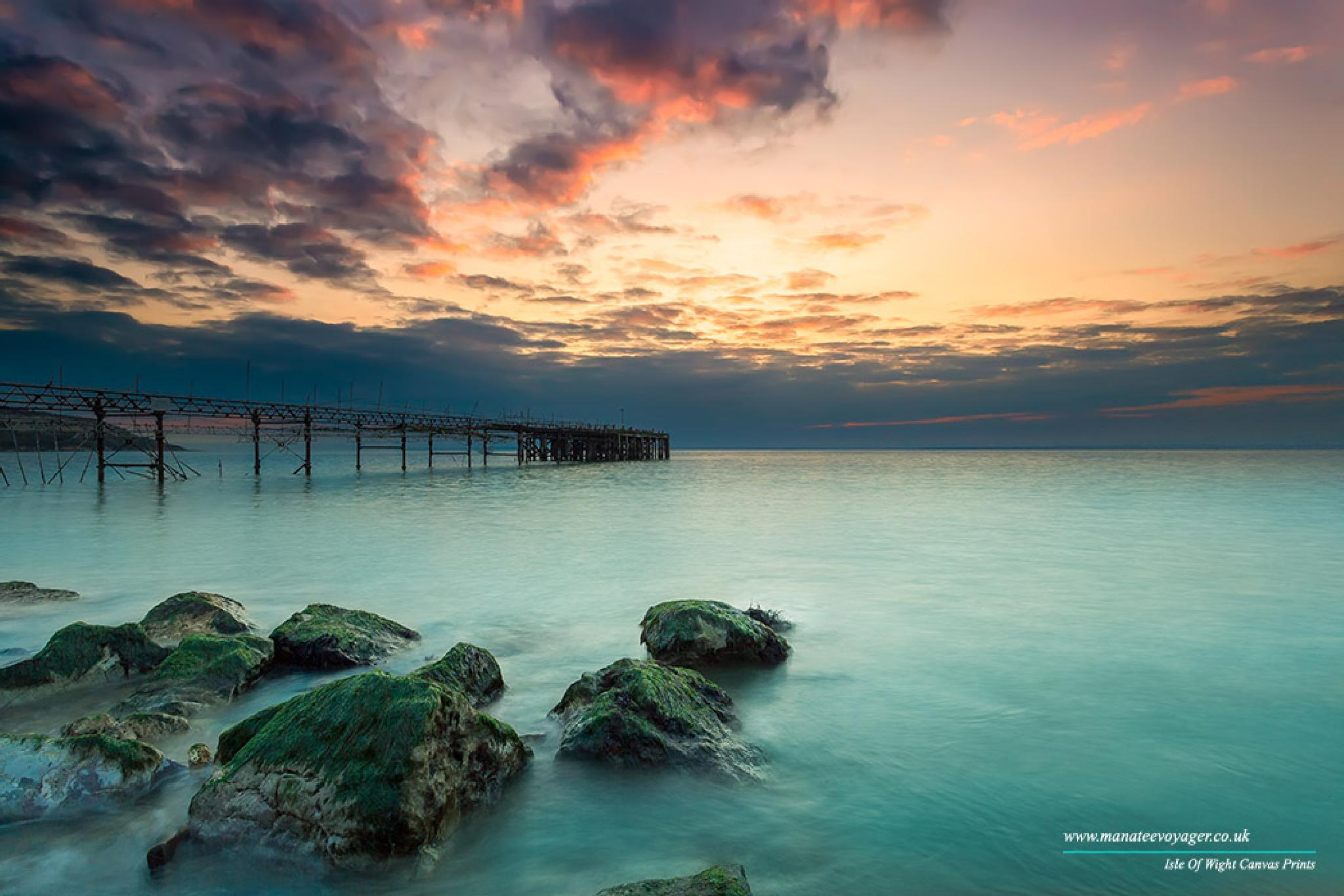 Sunset Pier by English Landscapes