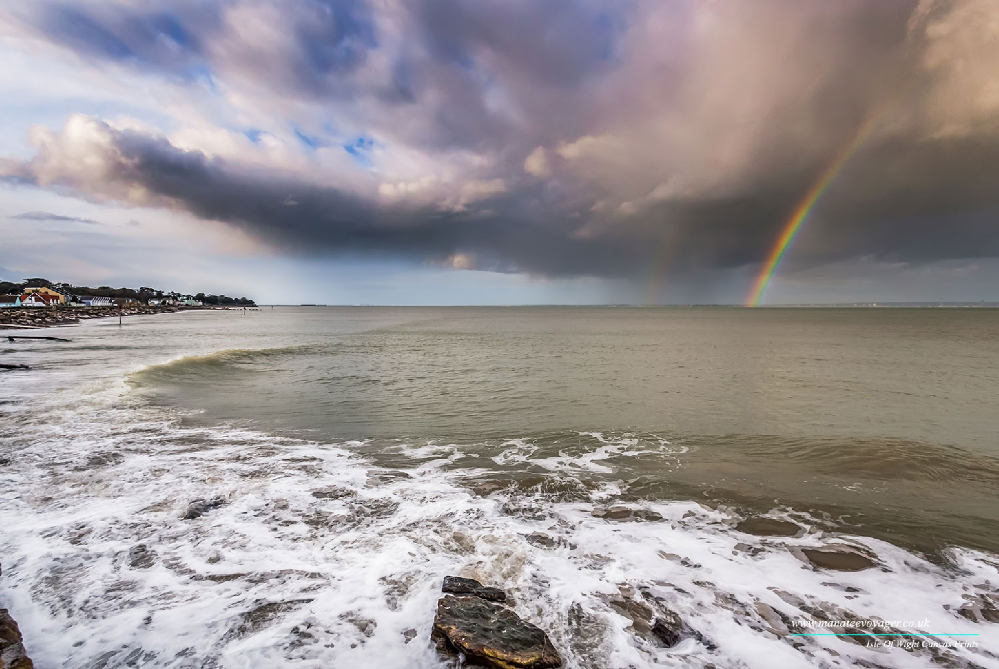 Seaview Rainbow by English Landscapes