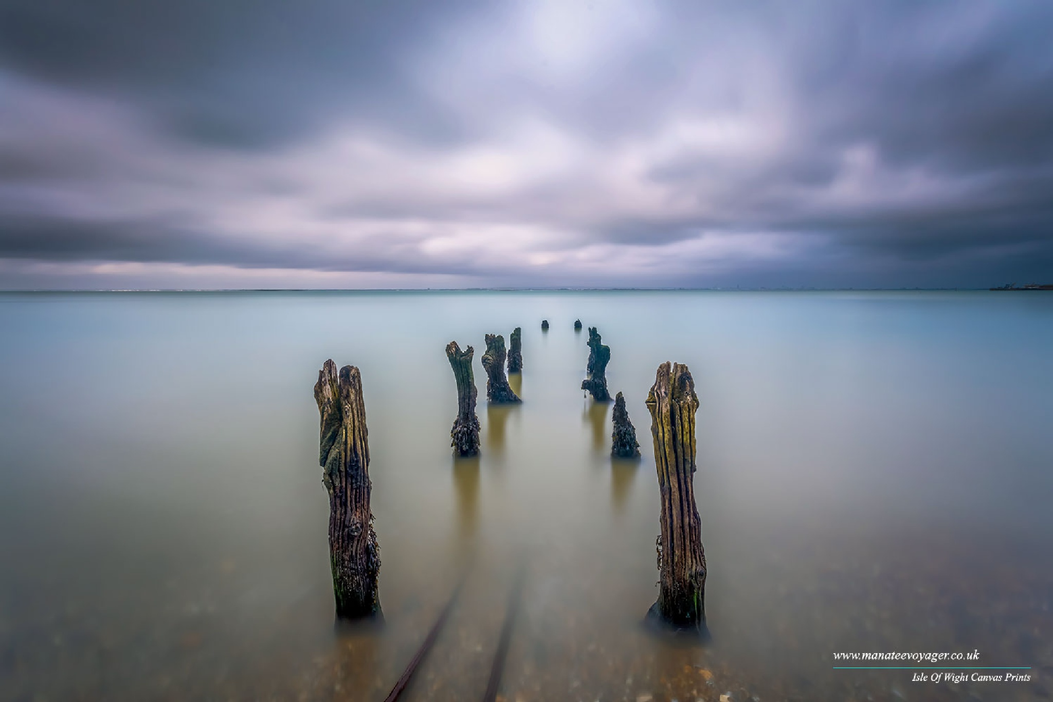 Submerged tracks by English Landscapes