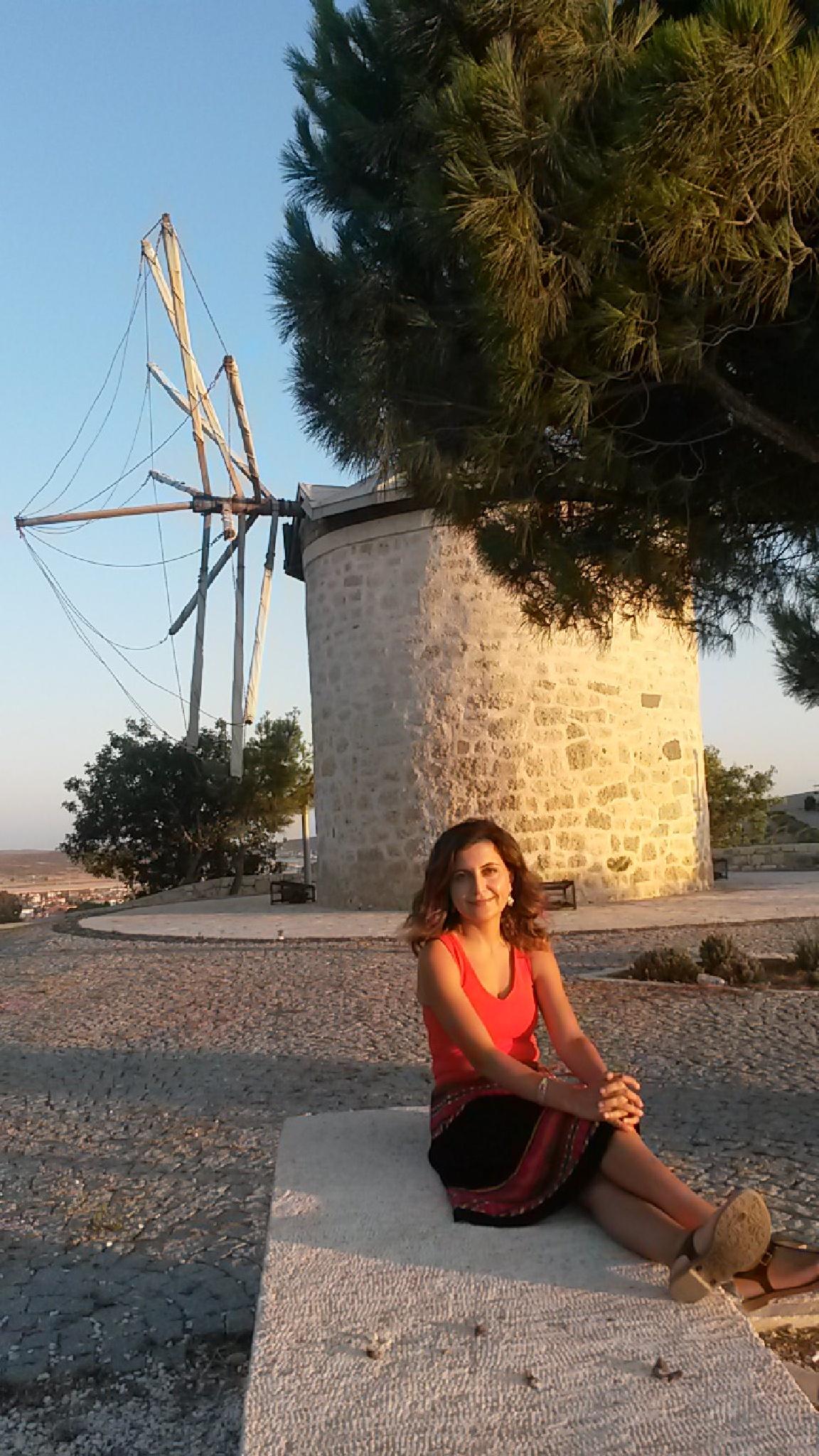 Photo in Random #windmill #sunset #alaçatı #holiday #turkey #joy