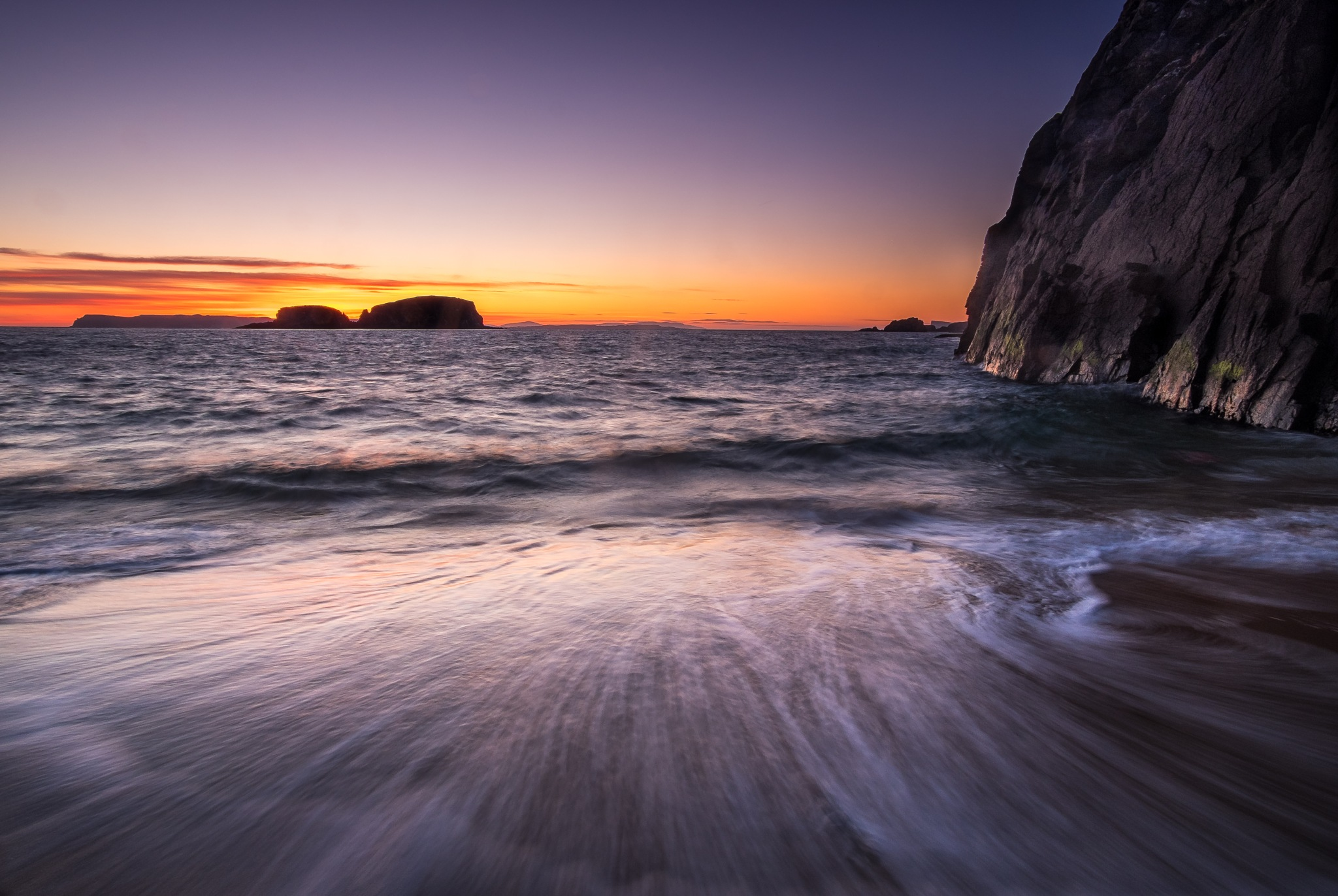 The secret beach by Lee Morrow
