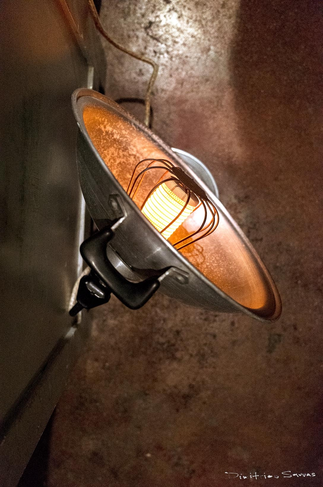 1960's electric reflector heater by dimitrissavvas