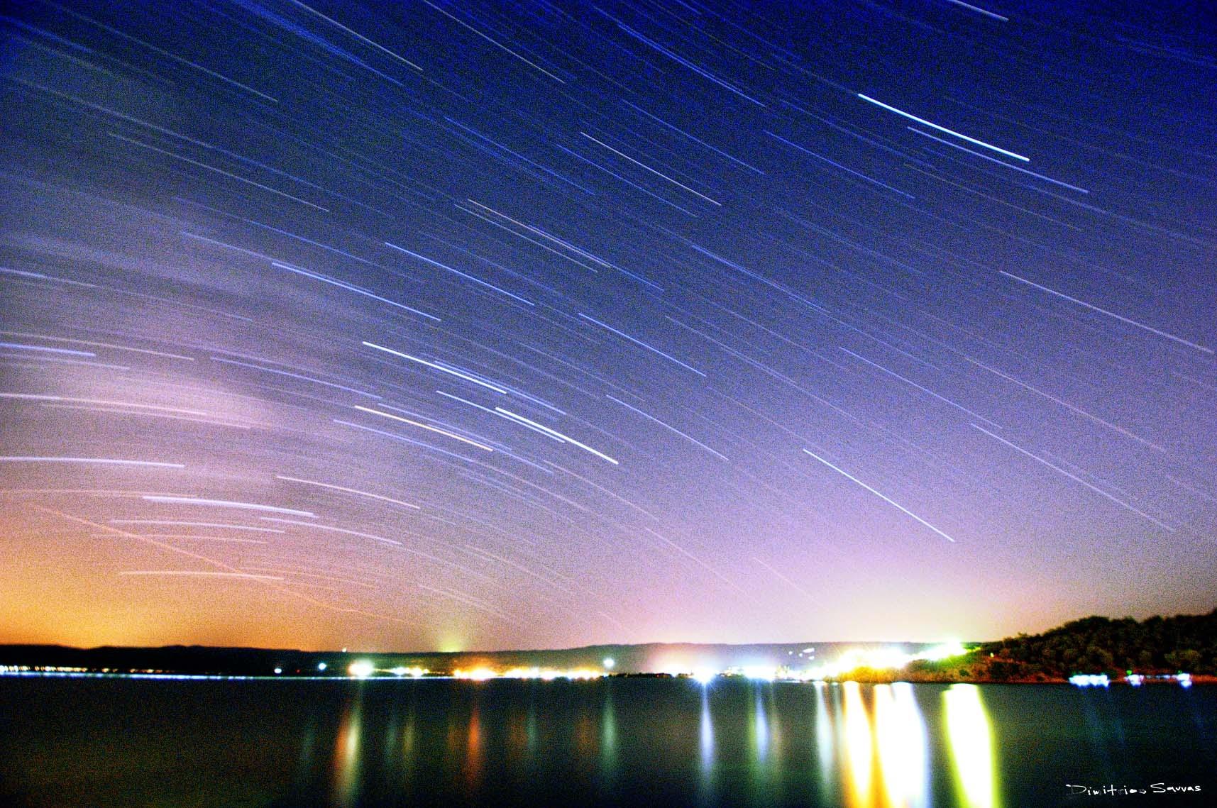 star trail by dimitrissavvas