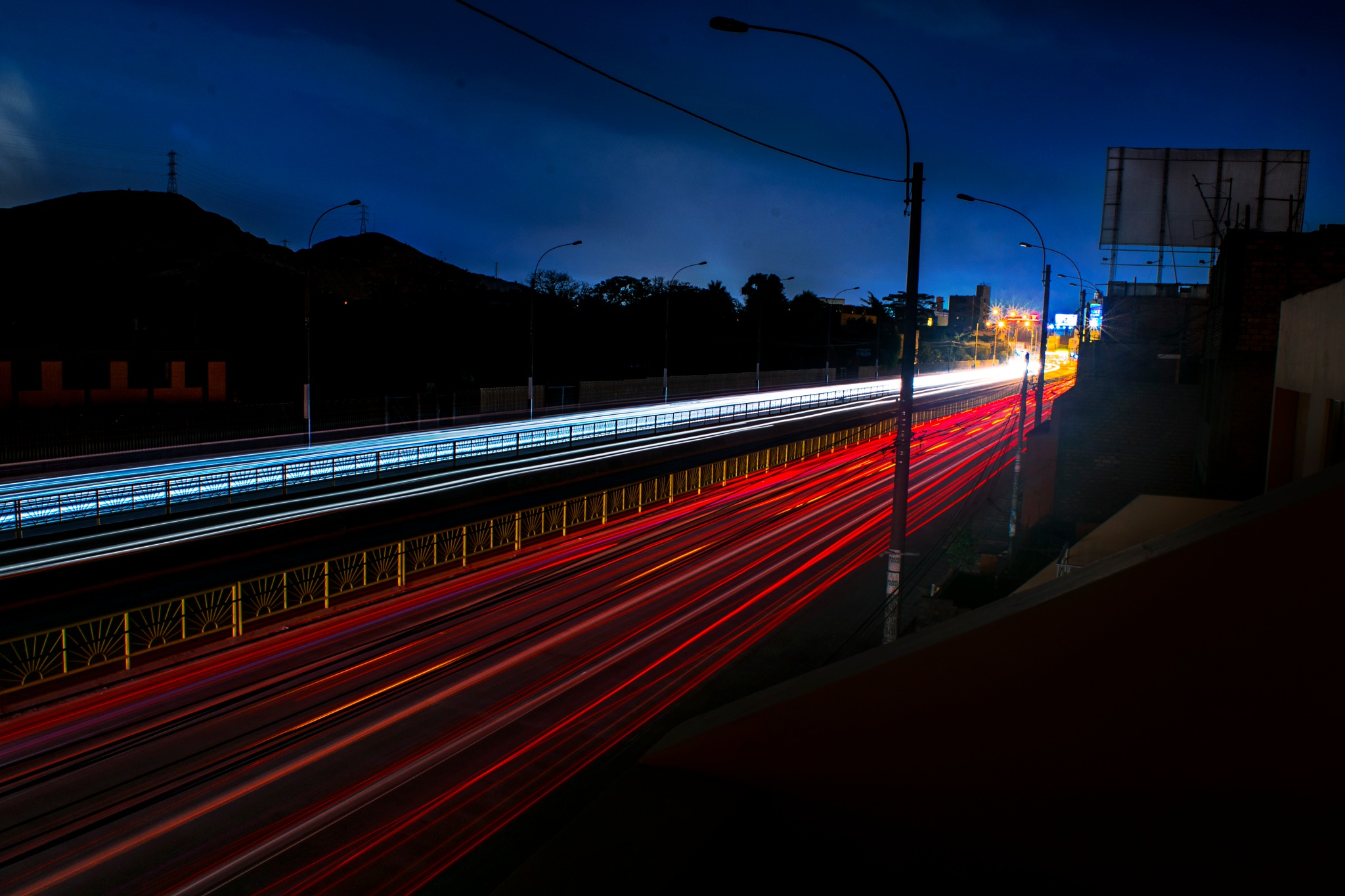 Longe exposure Street by Warren Christopher Chirinos Pinedo