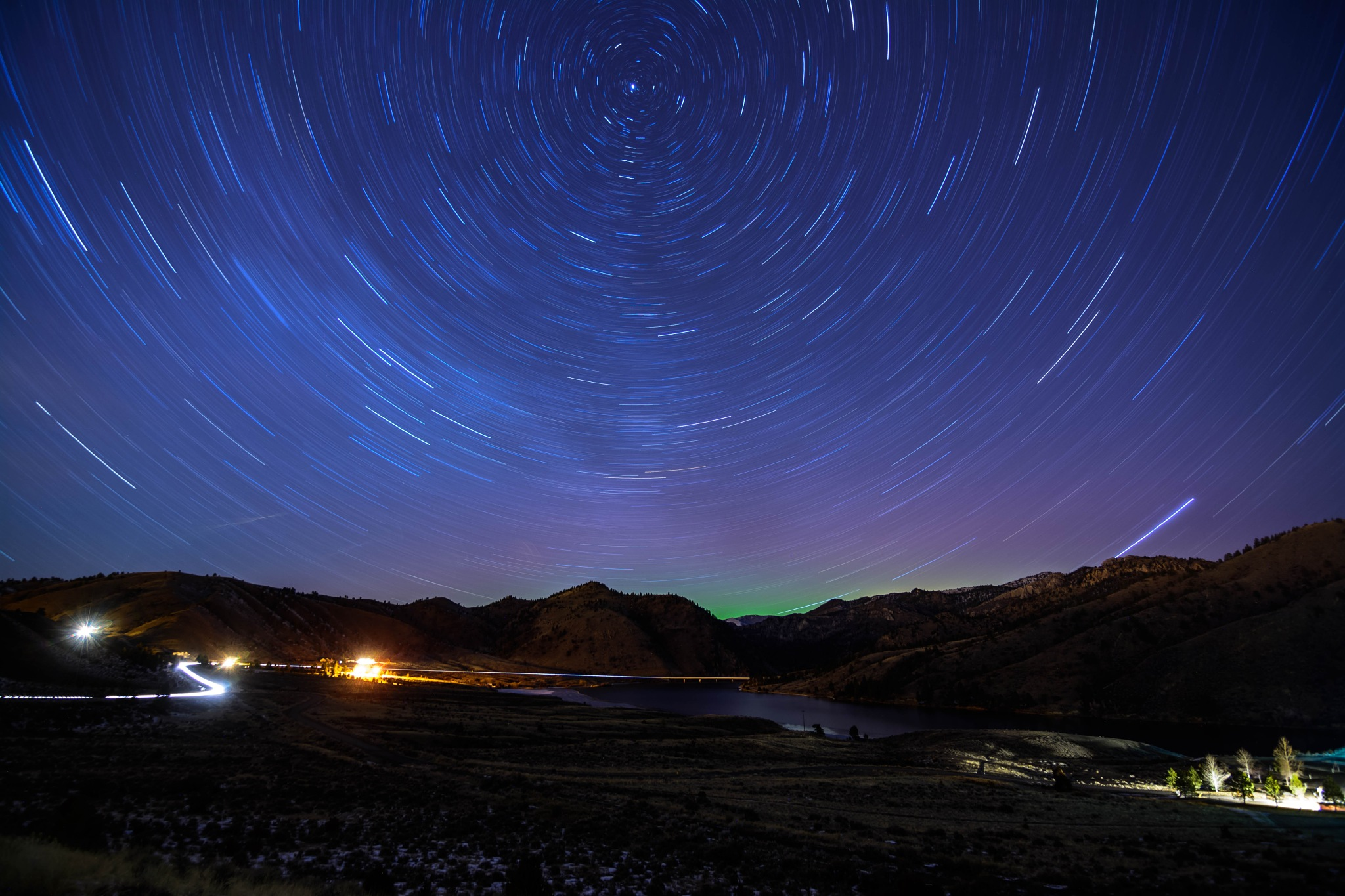 Star Wheels and Auroras by Tory L. Stephens