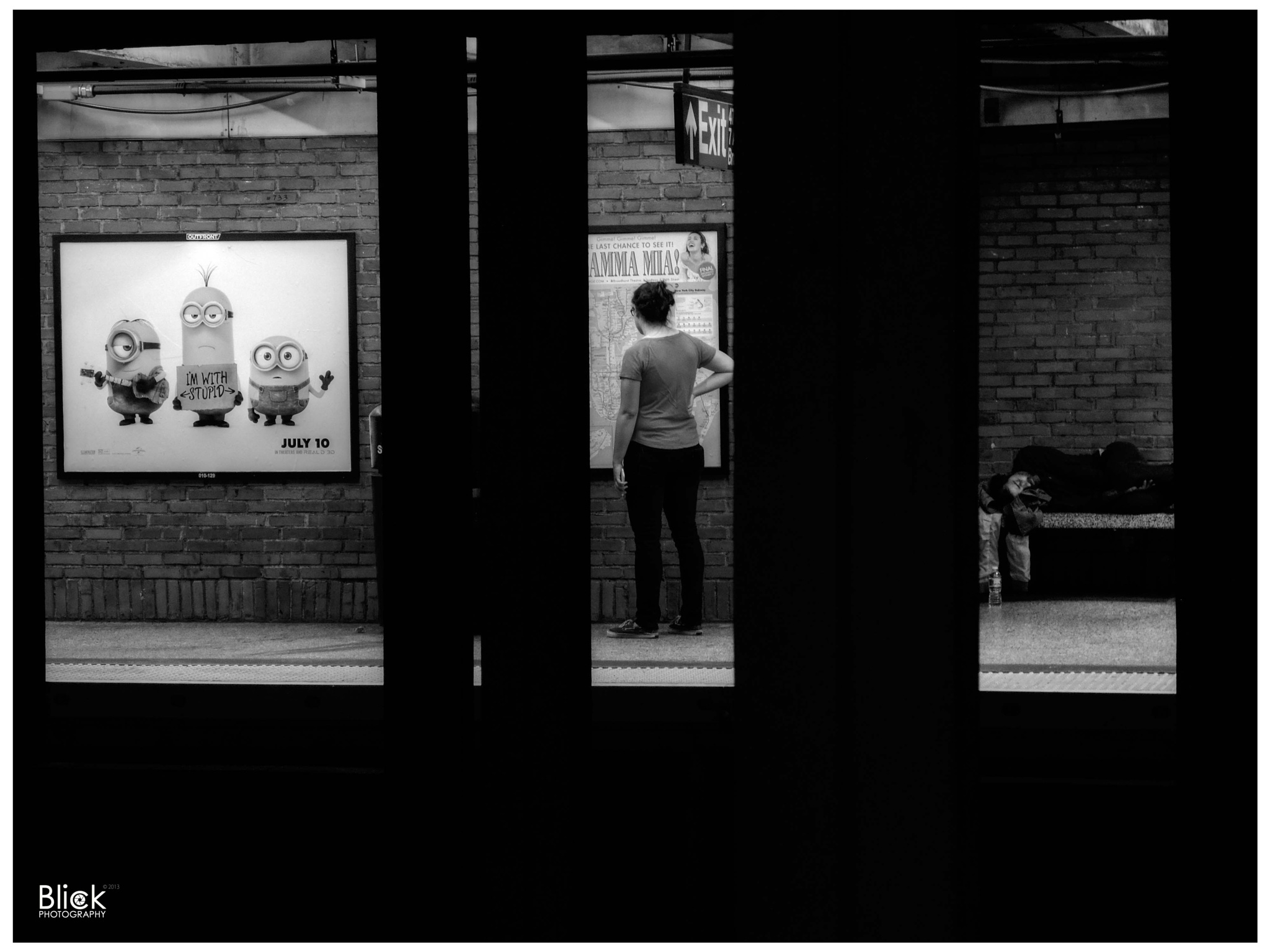NYC Subway 2015 by Florian Crone