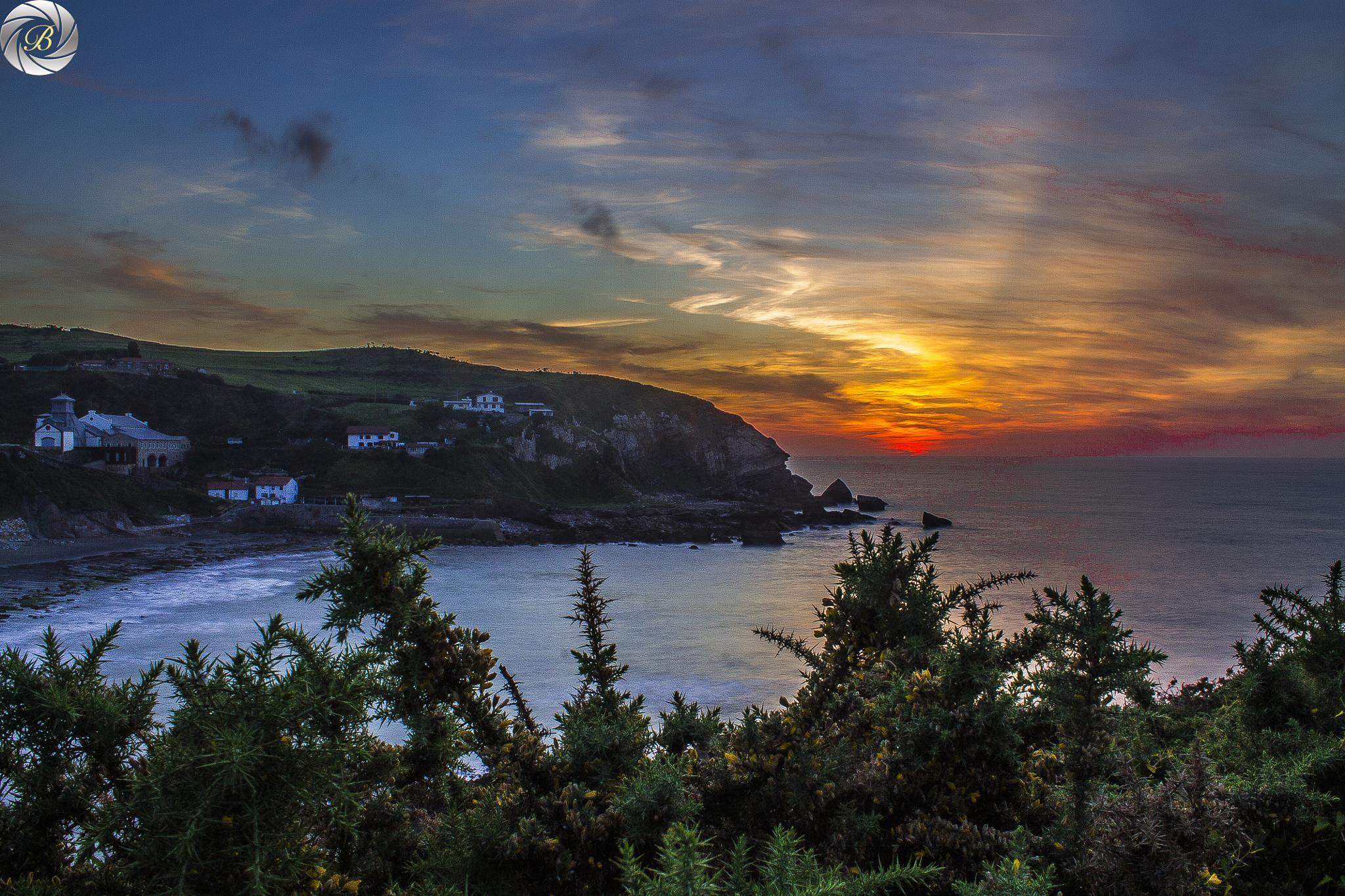 Photo in Sea and Sand #sunset #beach #seascape