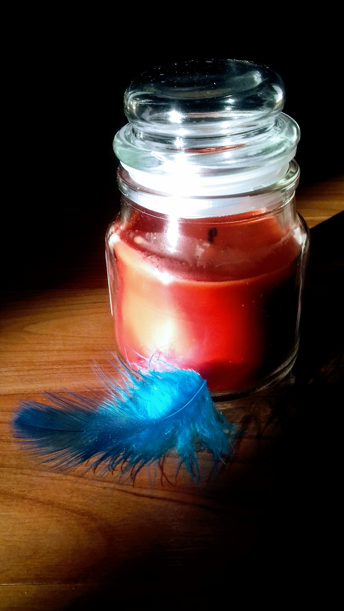 Photo in Fashion #candle #bottle #feather