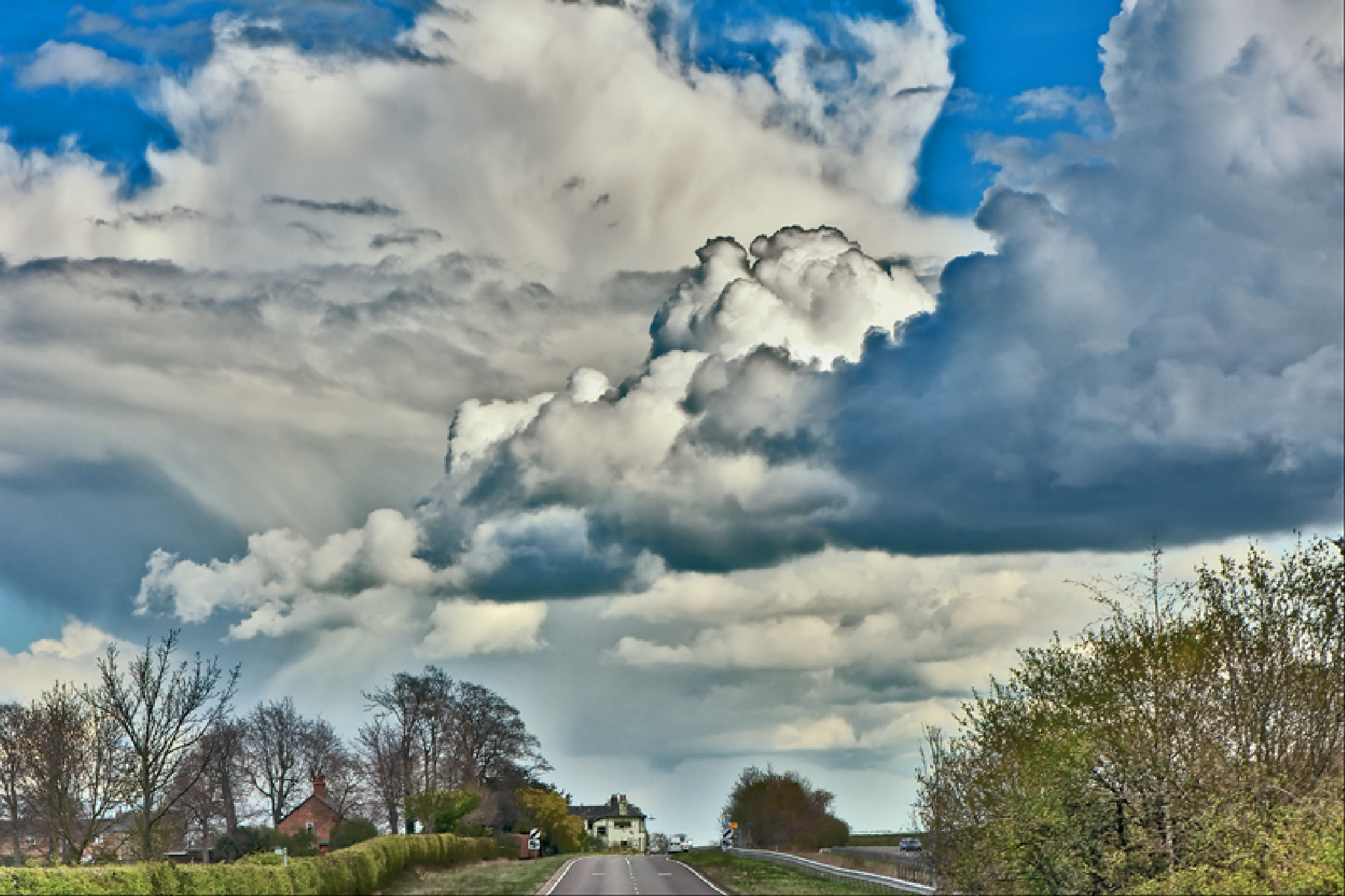 Hill Cloud by FrankLockwood
