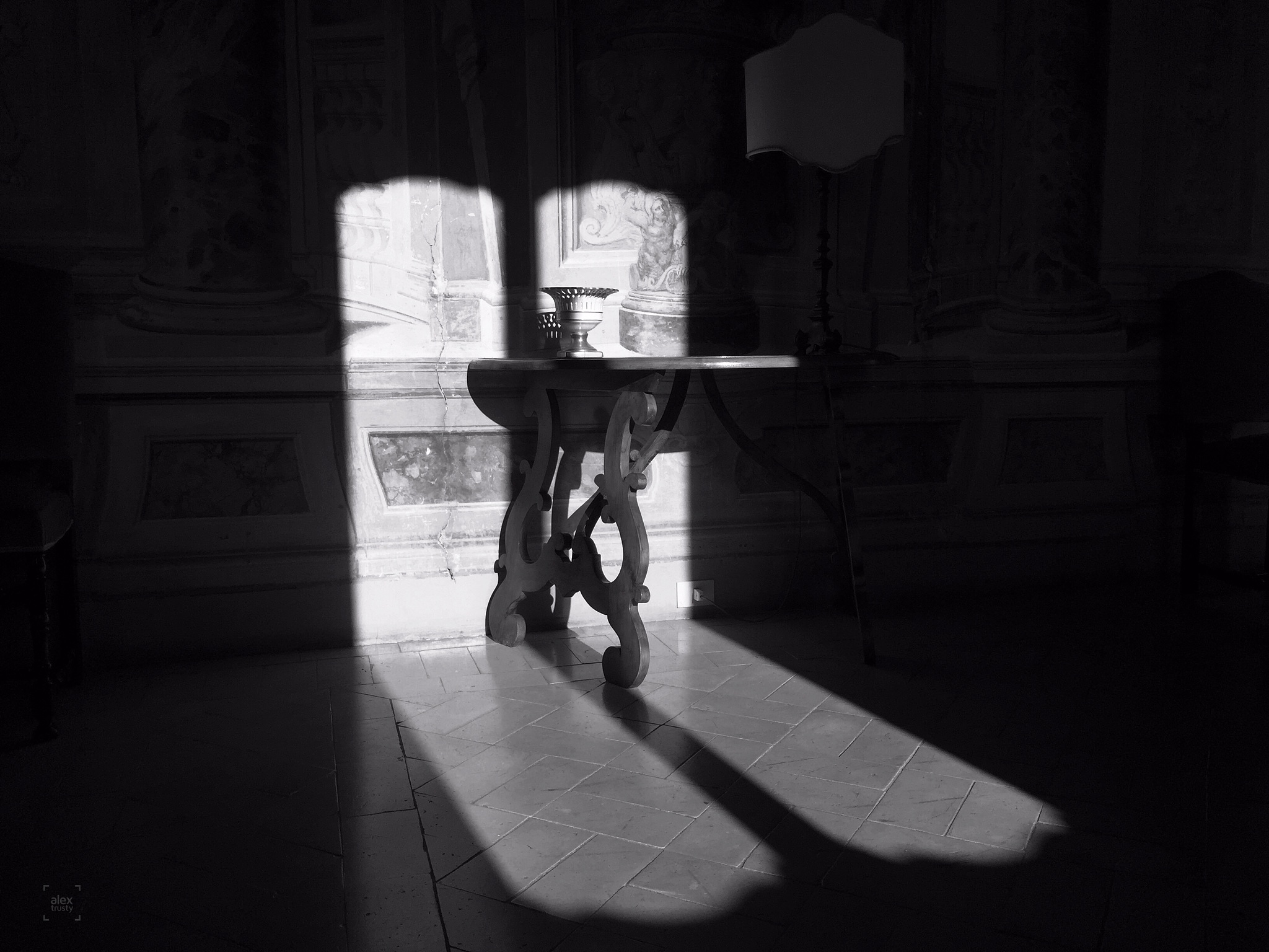villa grazioli light and shadows  by alextrusty