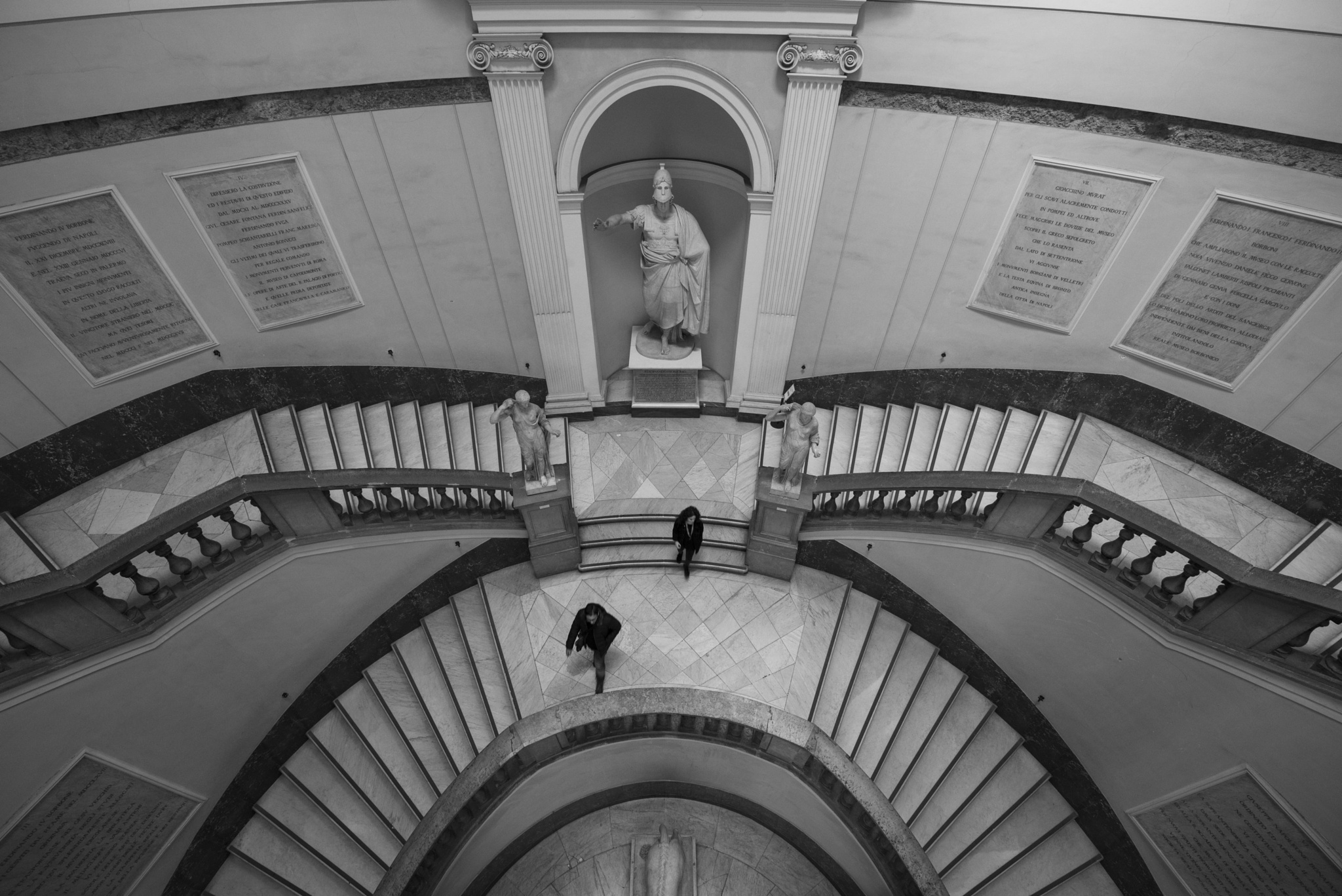 museum staircase  by alextrusty