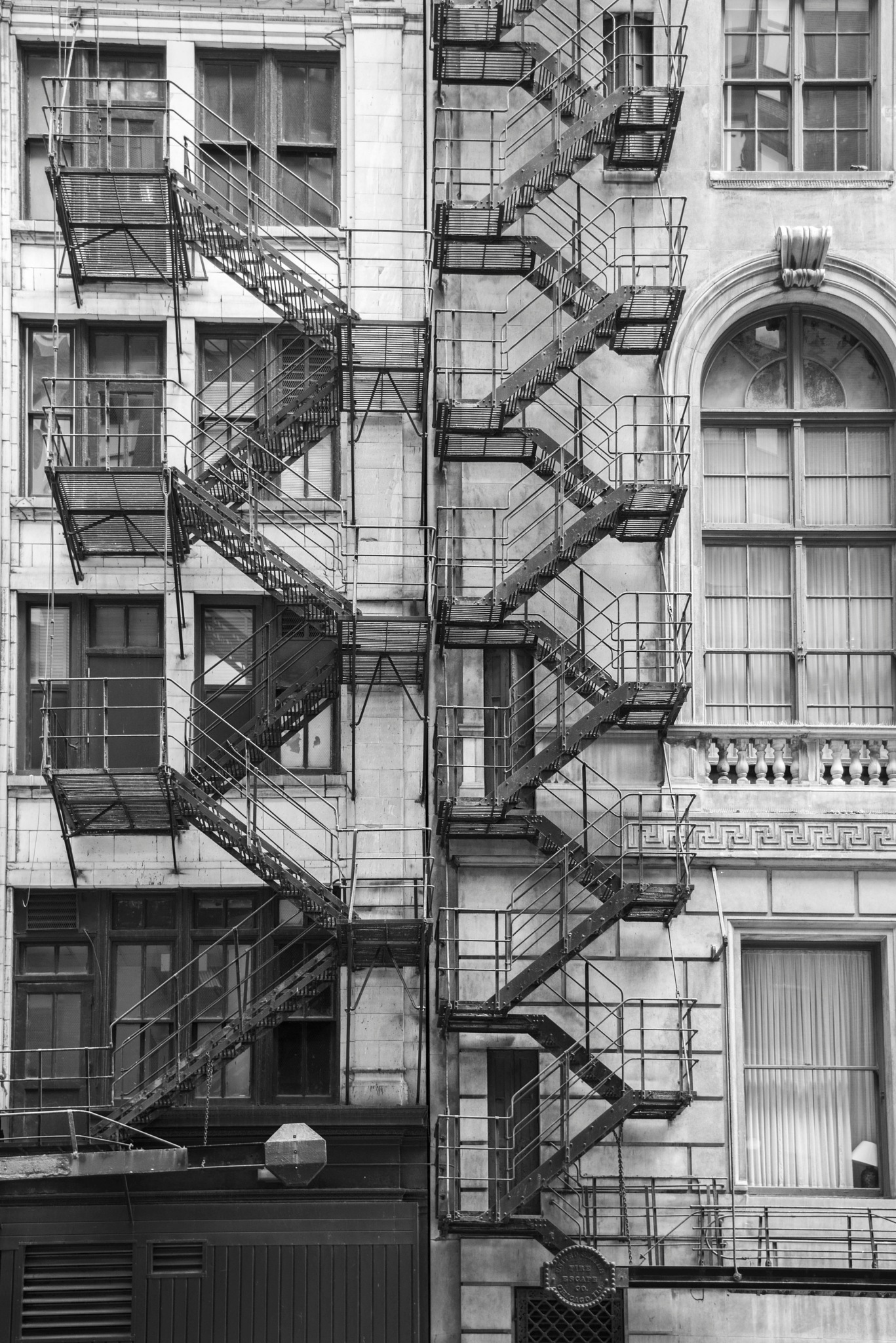 stairs in Chicago by alextrusty