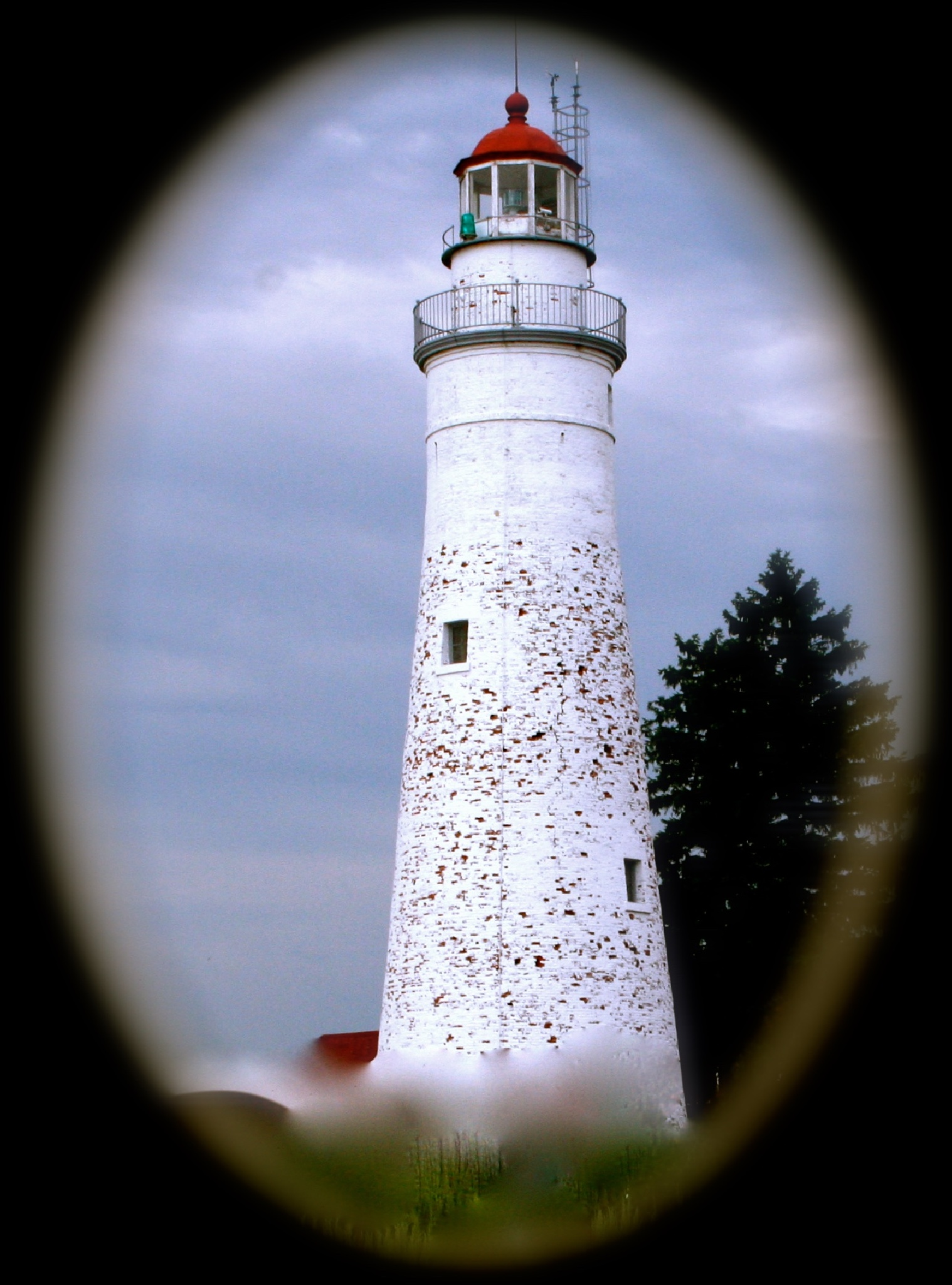 Fort Gratiot Lighthouse by Laurie Ann Morche'