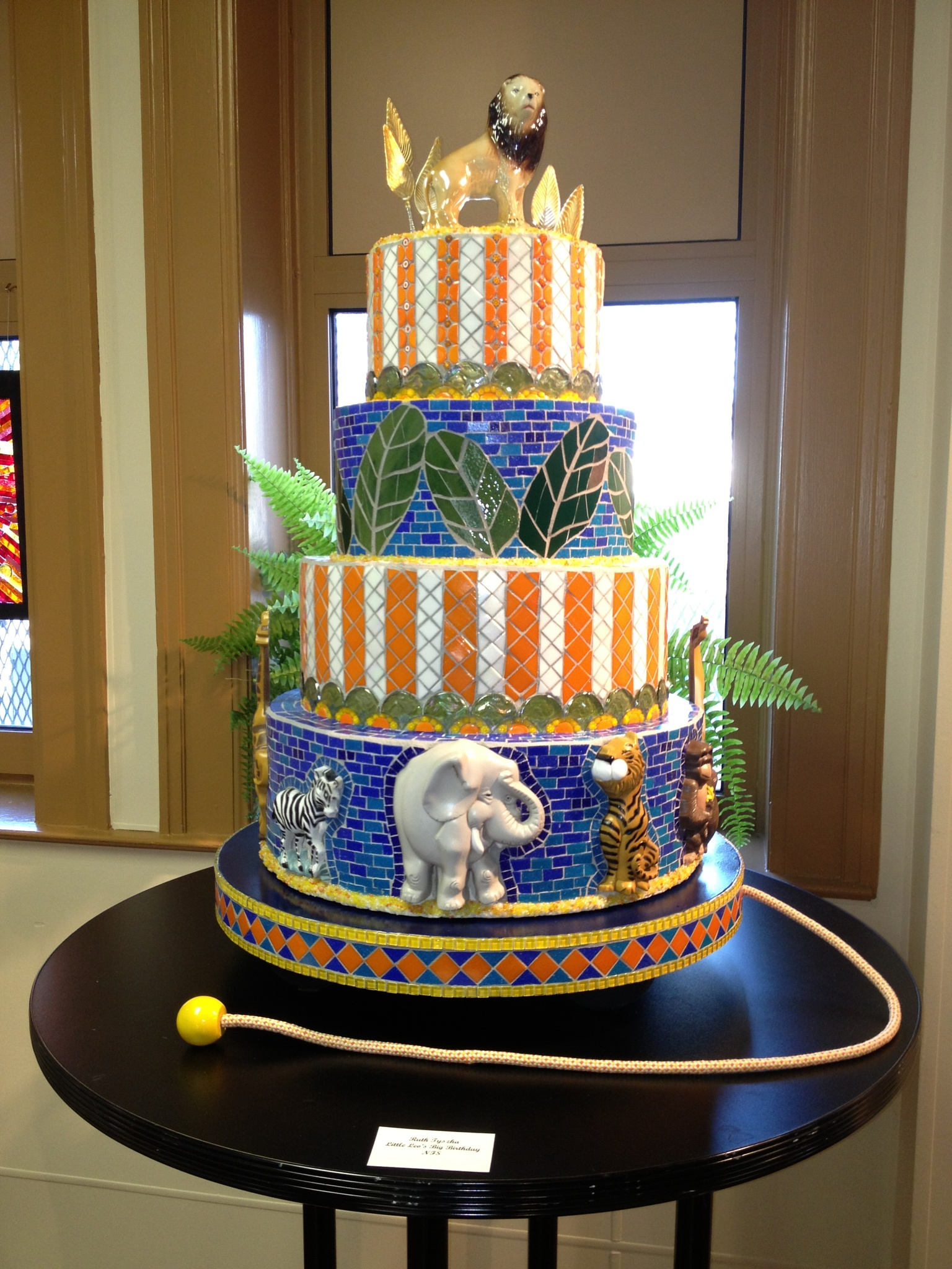 Mosaic Cake by Laurie Ann Morche'