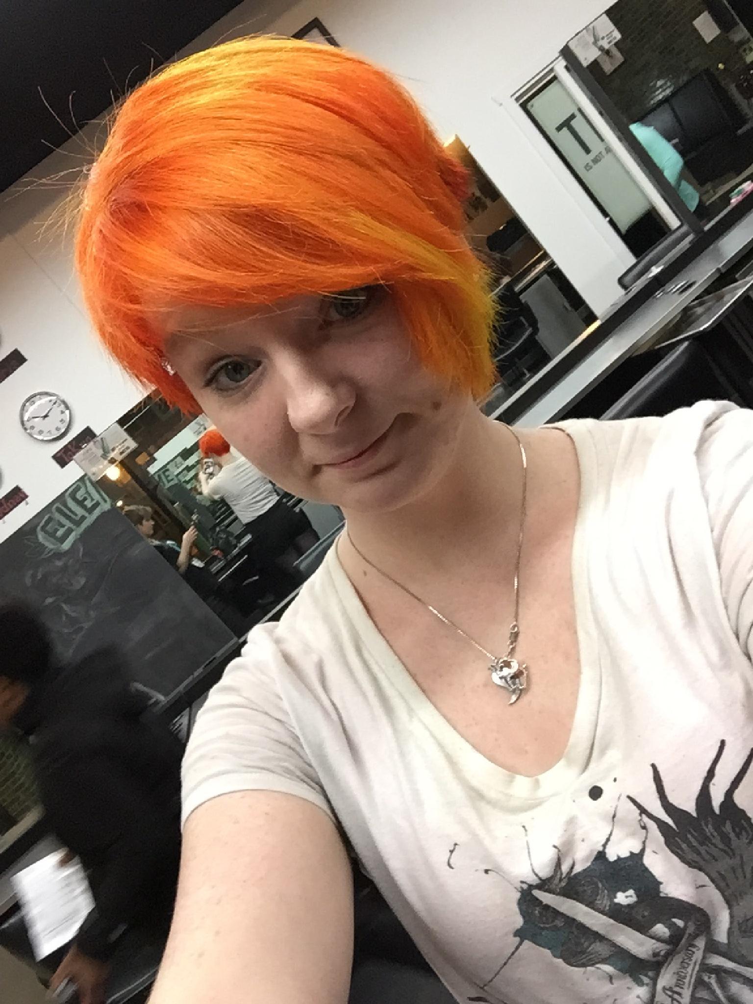 Orange Hair by Laurie Ann Morche'