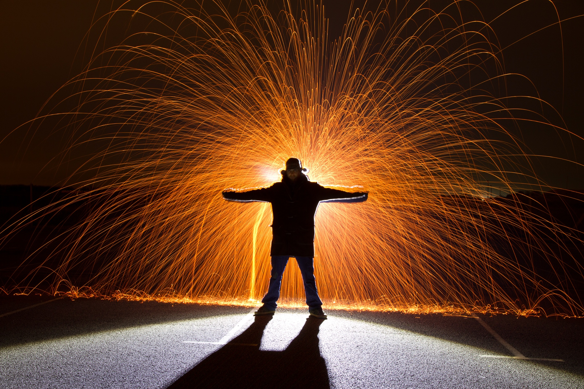 Lightpainting by JR's Photography