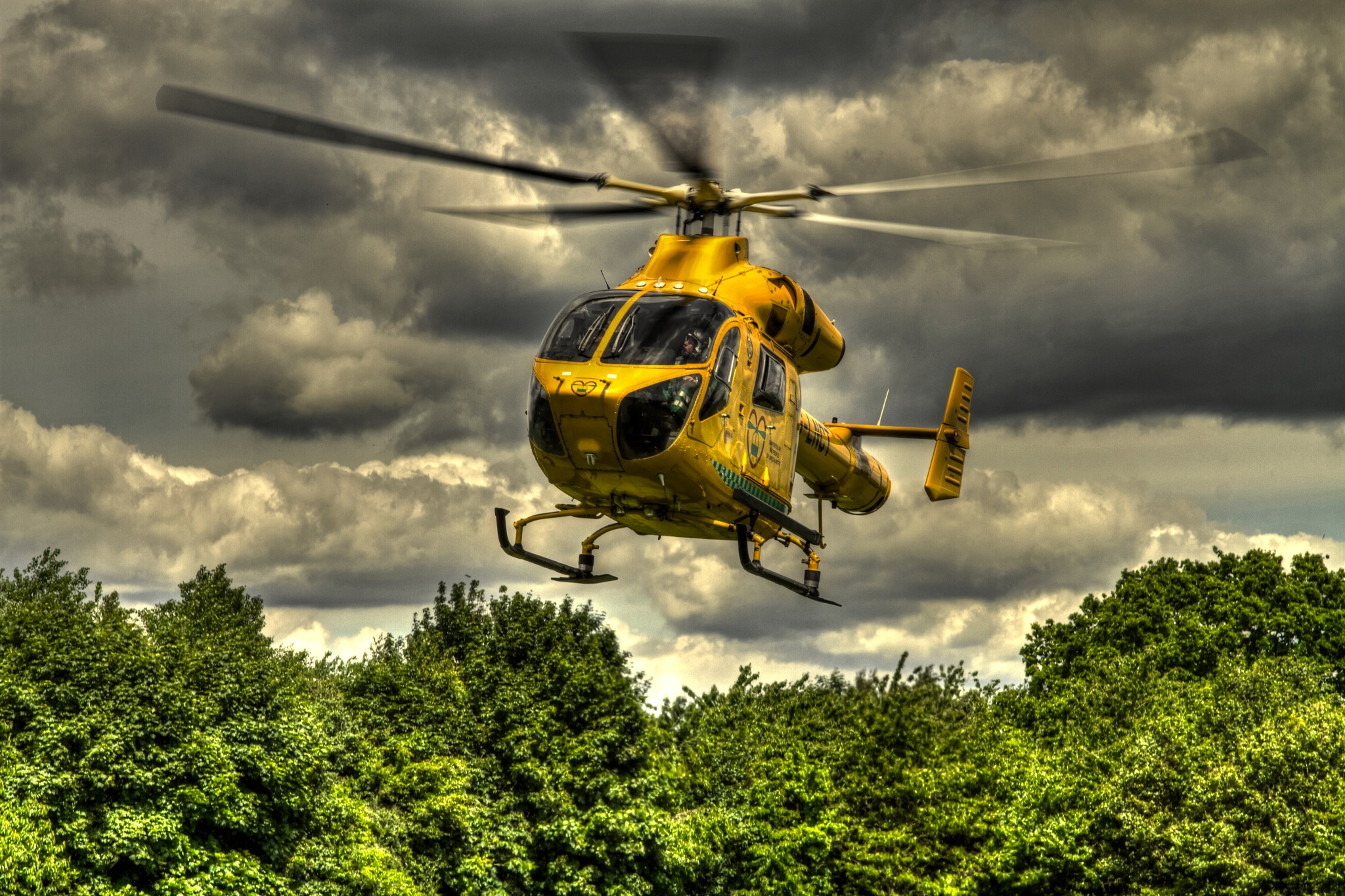 Air Ambulance by JR's Photography