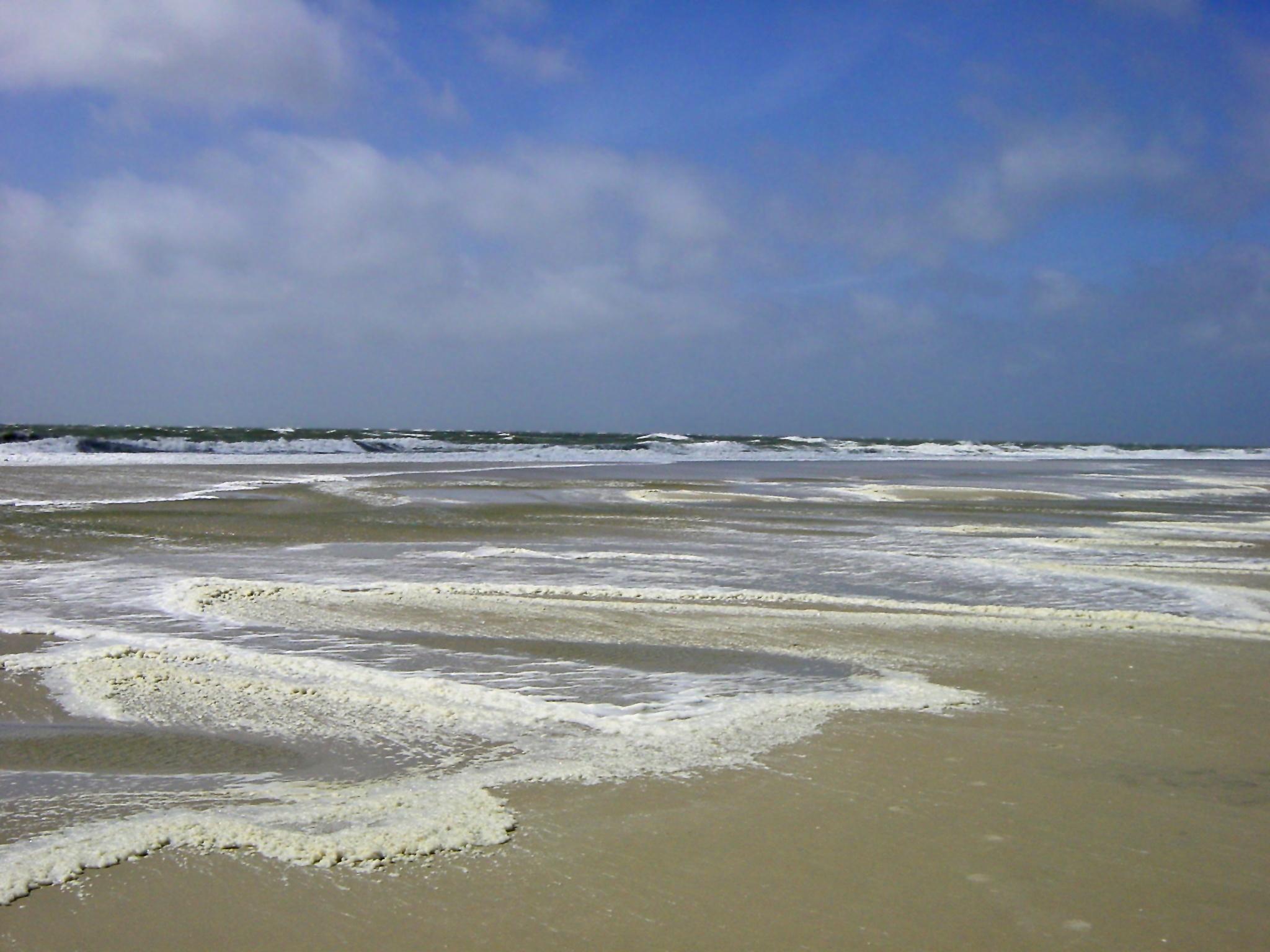 Sea Foam Amrum, Kniepsand by dirtyharriet