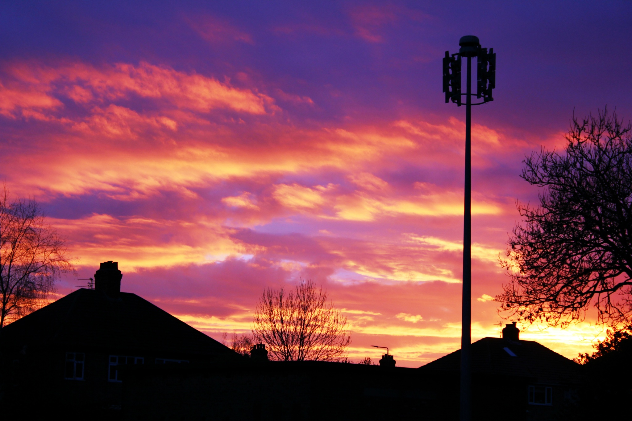 Urban Sunset by Michelle Connor