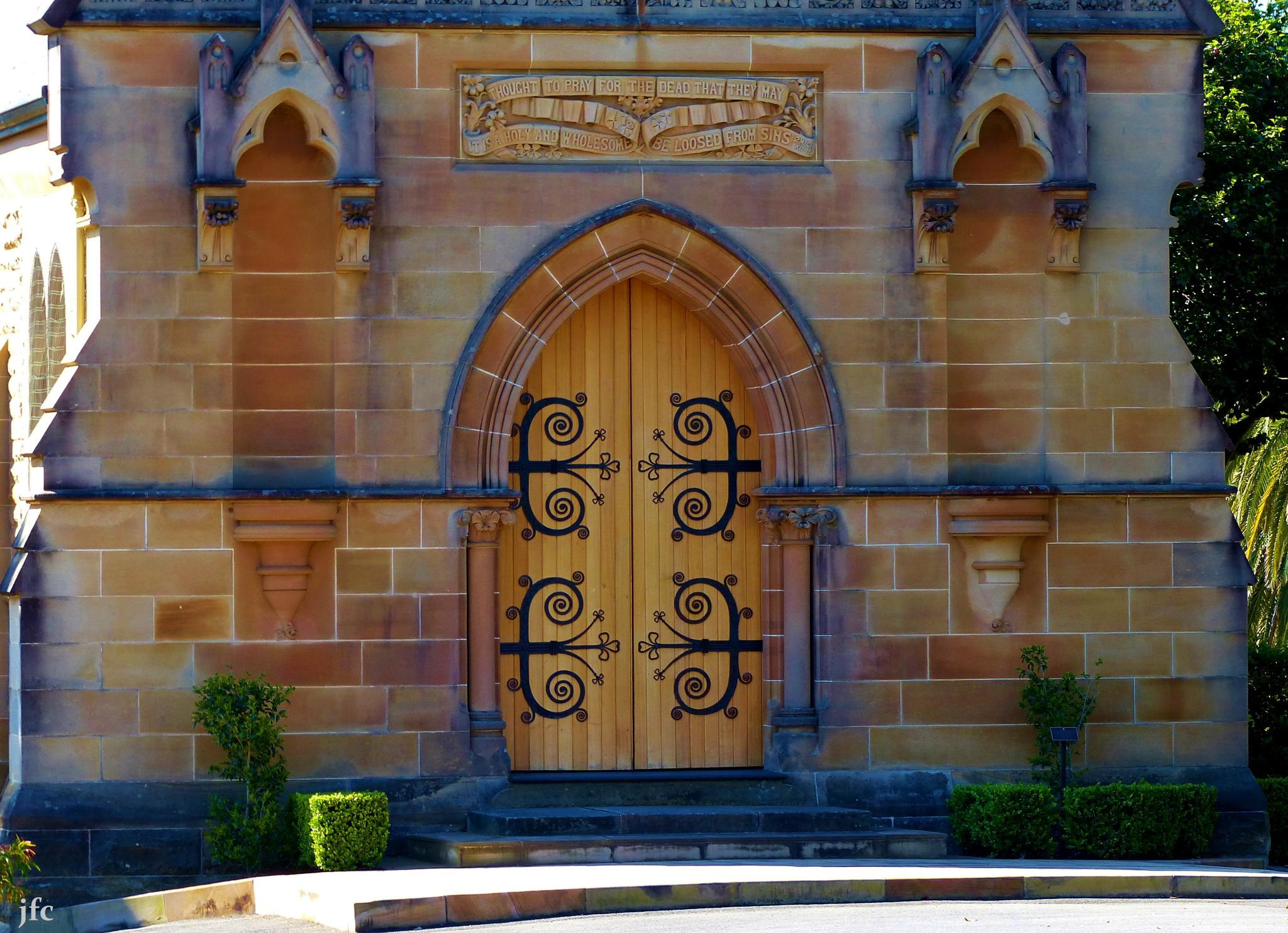 church door by johnfalconcostanzo