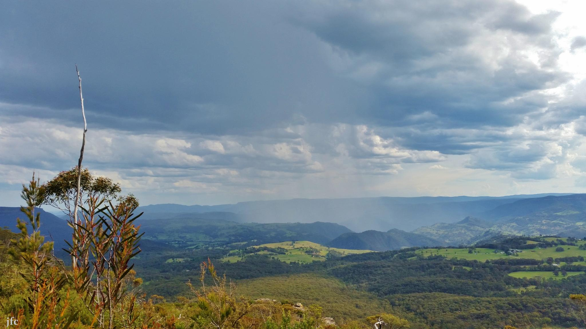 blue mountains  nsw . by johnfalconcostanzo