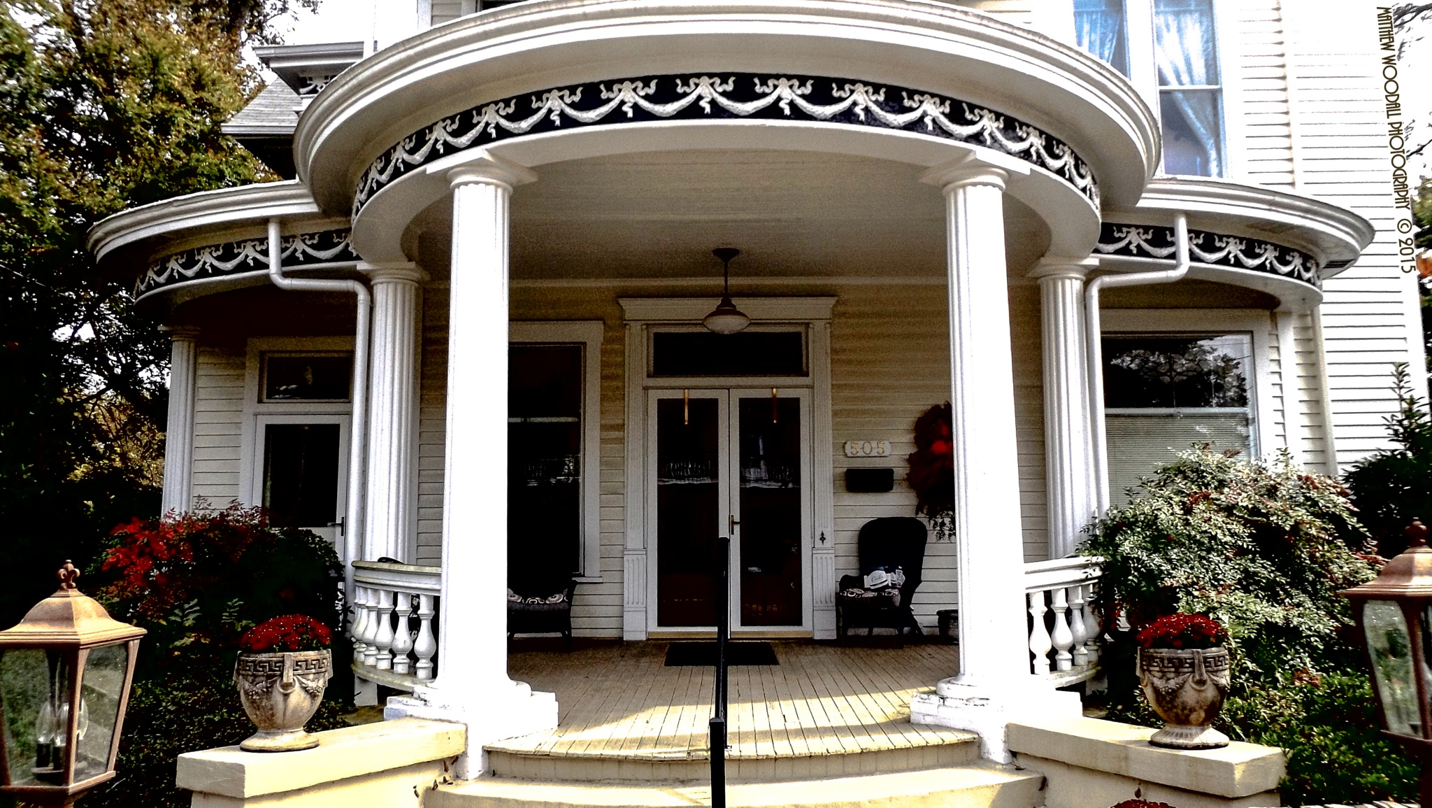 Victorian Porch by Matthew Woodall