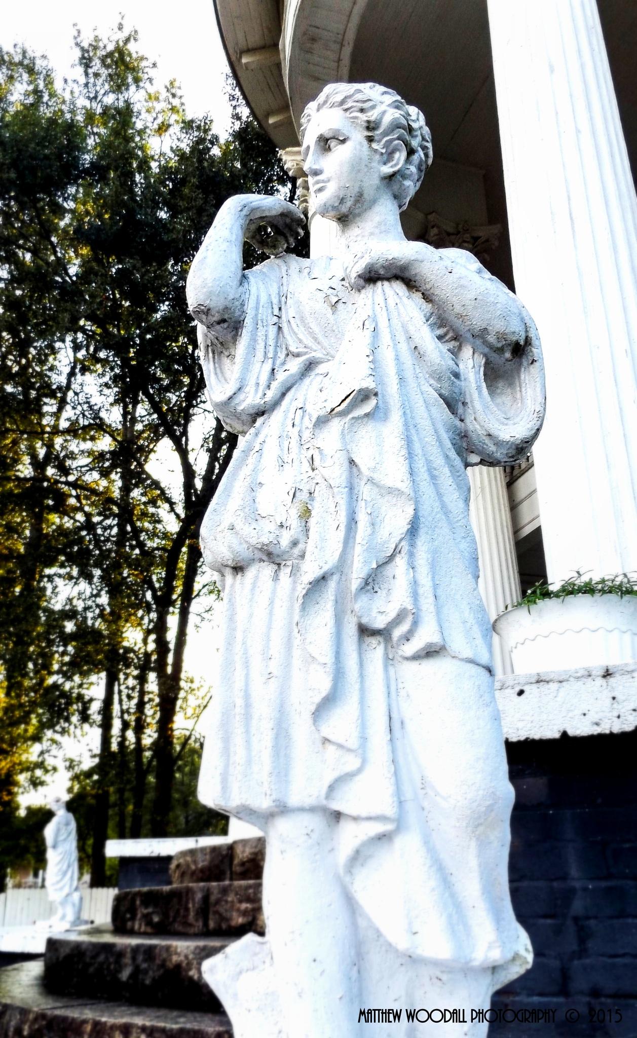 Victorian Statue by Matthew Woodall