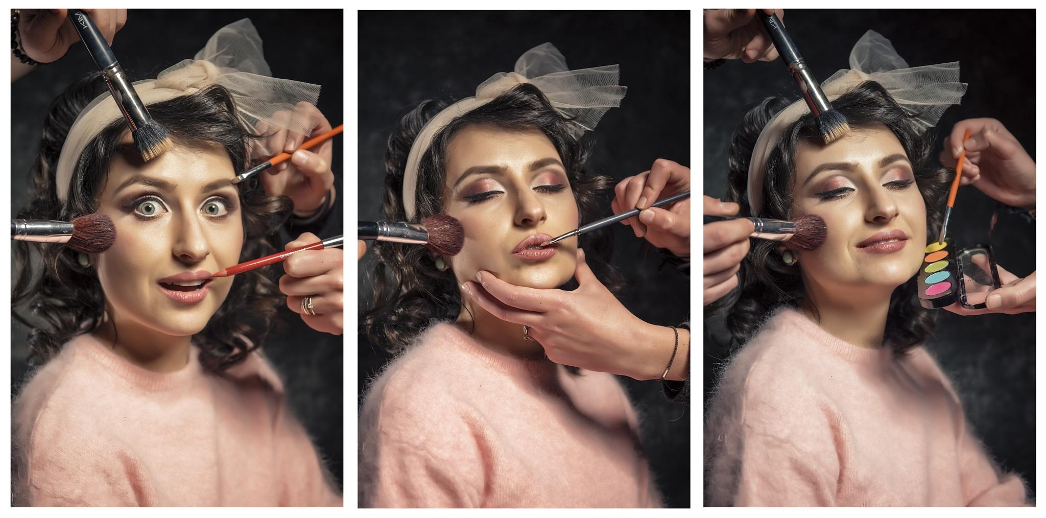 The make-up storyline by Bogdan Iacob