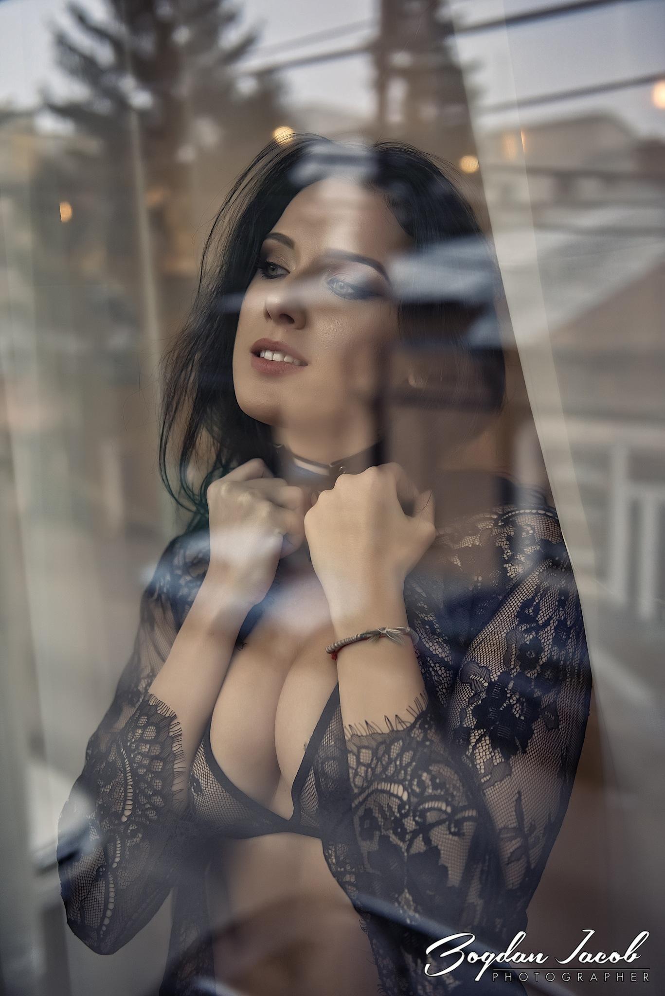 By the window by Bogdan Iacob