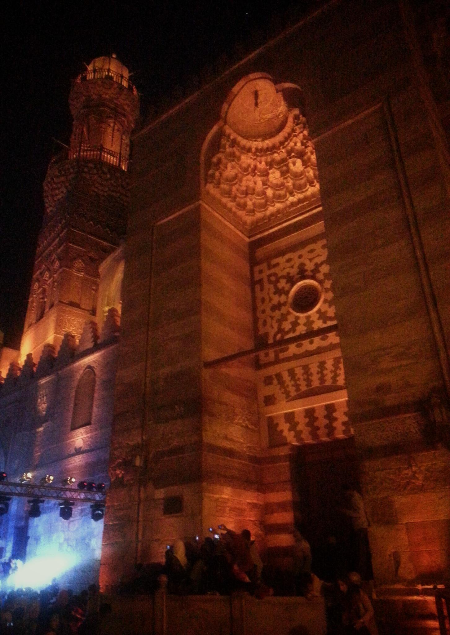 the Mosque  by Haytham Saleh