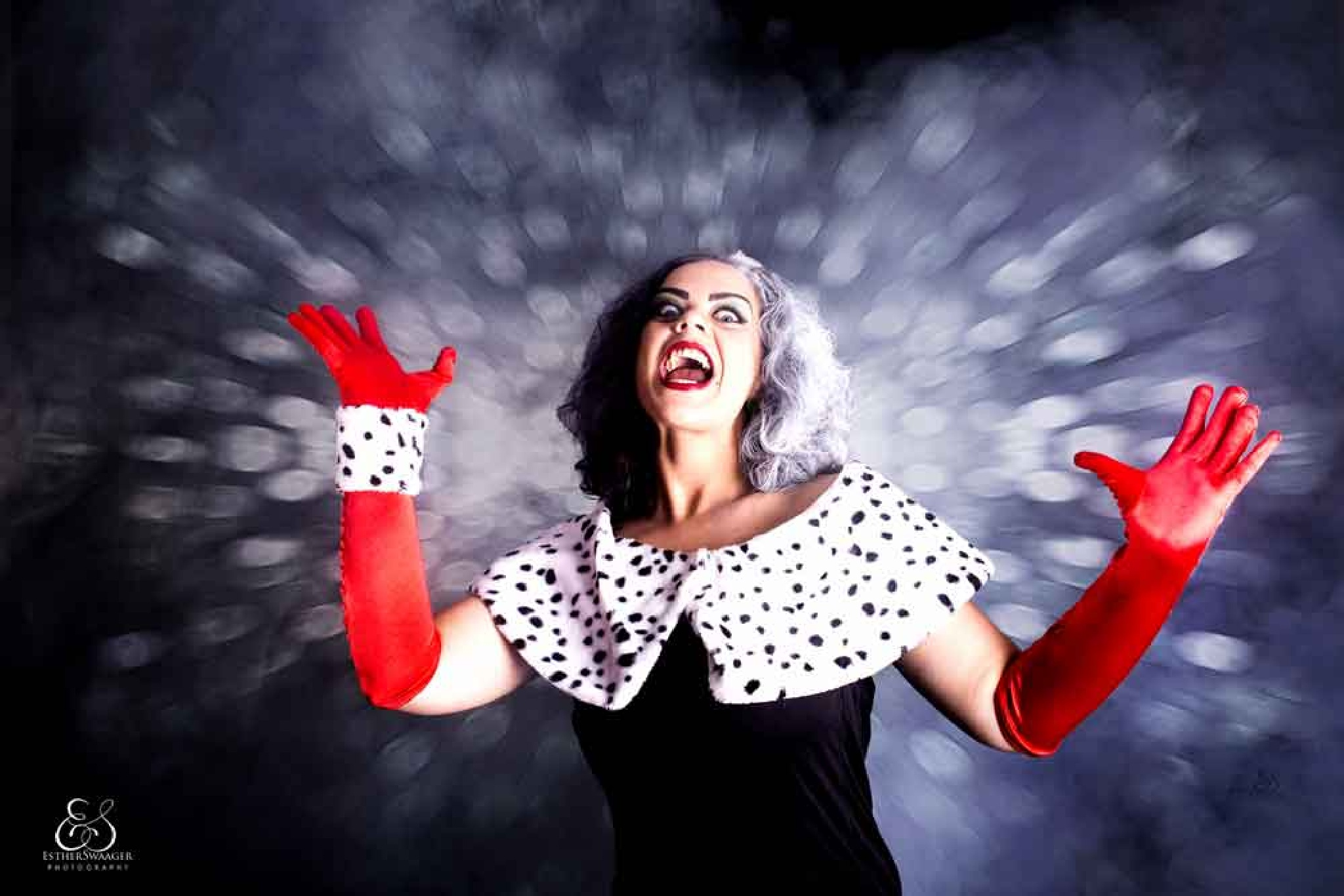 Marjelle as Cruella de Ville by Esther Swaager Es Photography