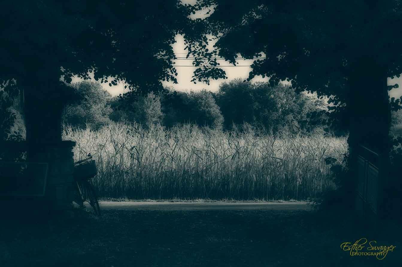 Dordogne en blue by Esther Swaager Es Photography