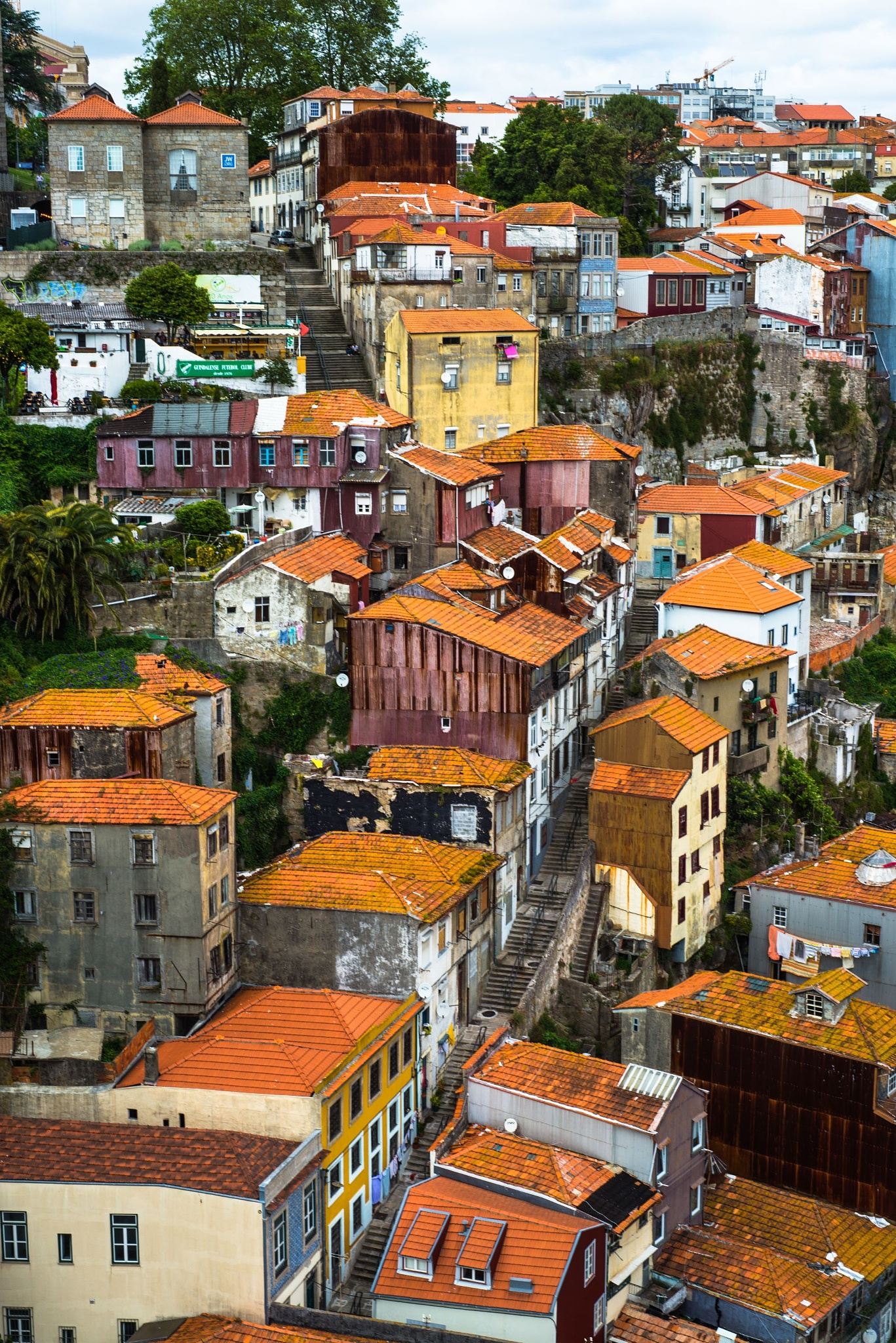 Photo in Travel #porto #architecture #unesco #street #streets #roof #portugal #city #town #atmosphere #portugues #view #ruins #ruin #urban #special #country