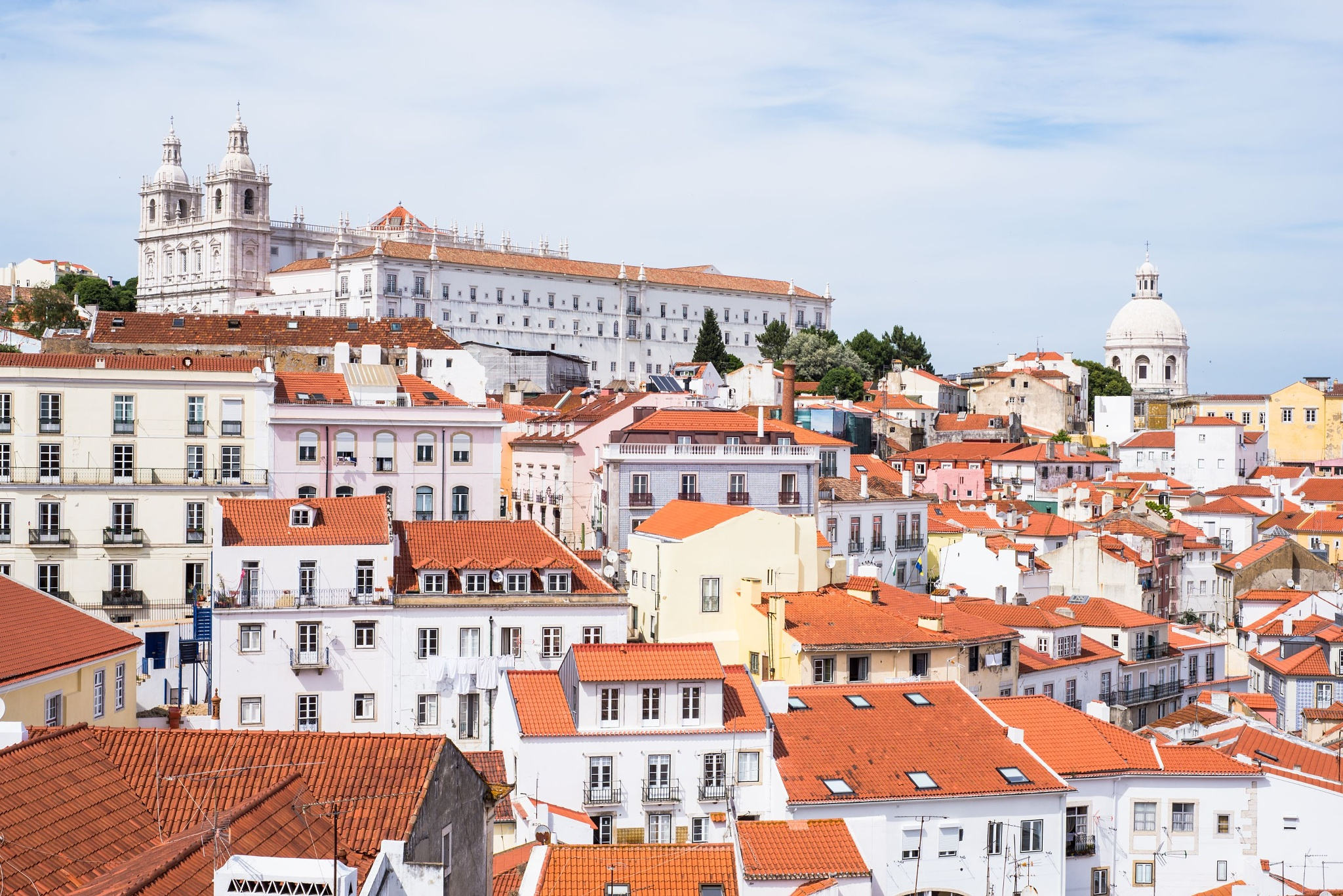 Photo in Travel #lisbon #portugal #roof #architecture #unesco #old #ruin #cathedral #panteon #monastery #top #hill