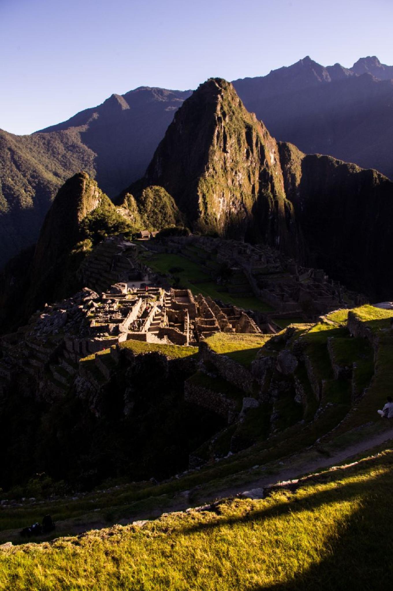 Machu Picchu sunrise by Zdenko Somorovsky