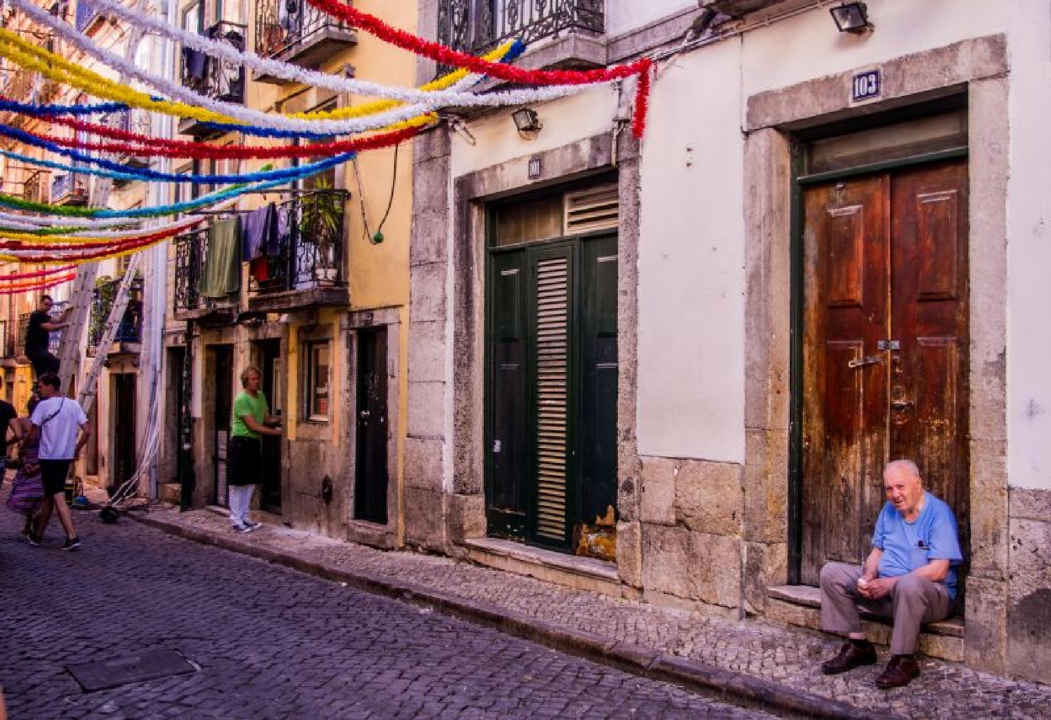 Lisbon by Zdenko Somorovsky