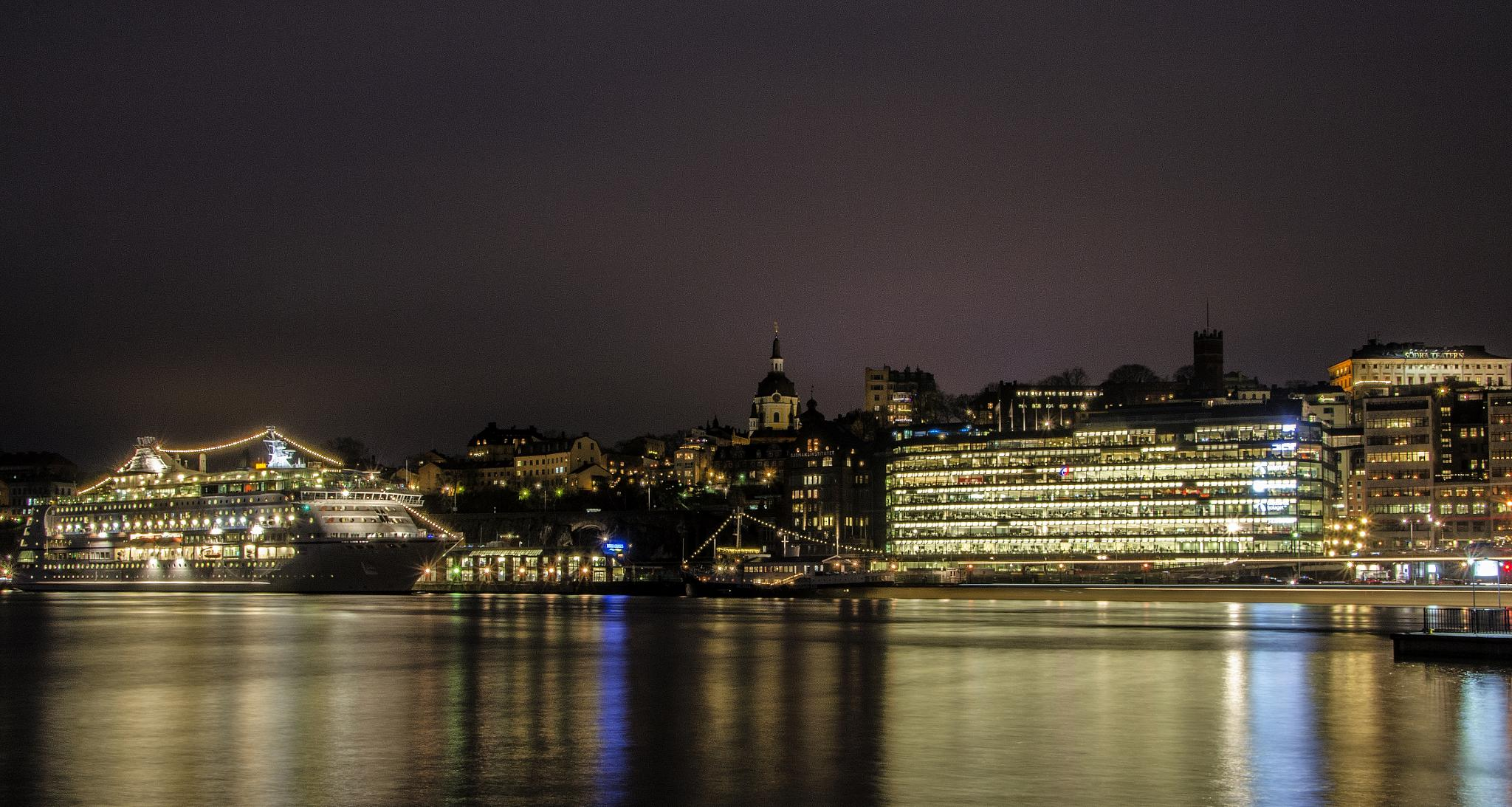 A night in Stockholm by Alexander Arntsen