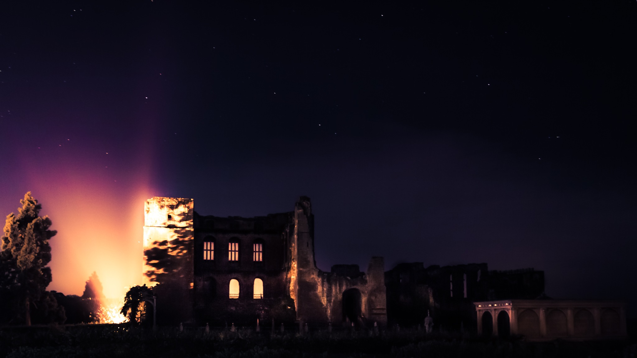 Kenilworth Castle at Night I by Fabio Rodrigues